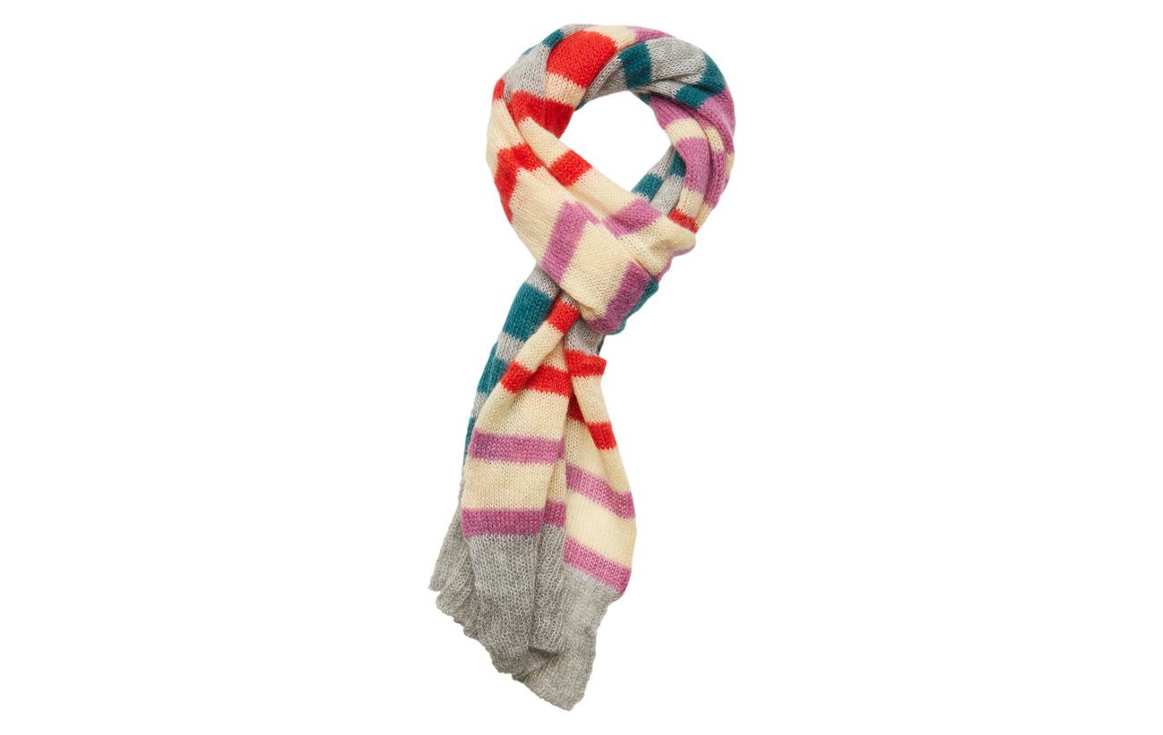 BECKSÖNDERGAARD Gloria Lovely Stripes - PETROL