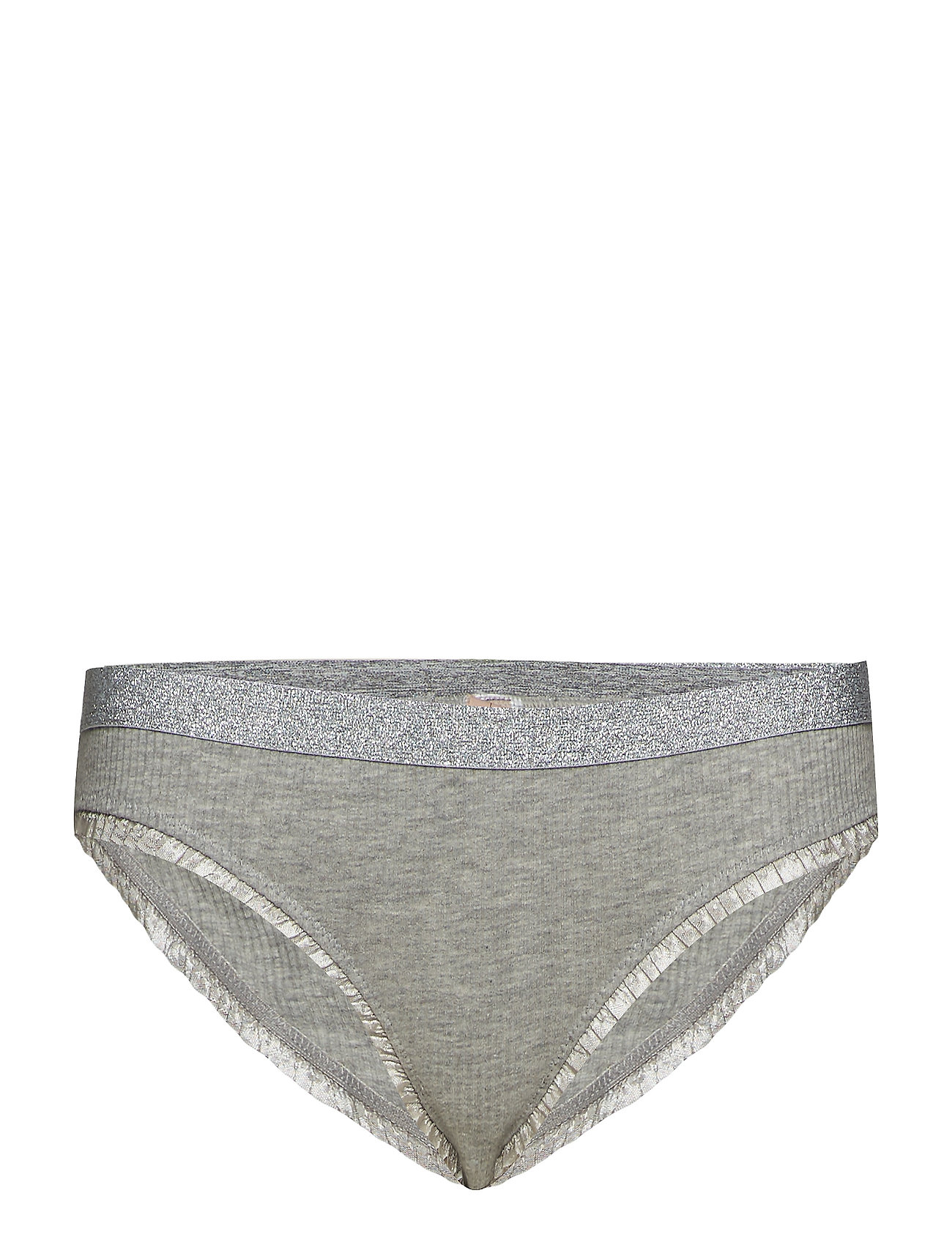 BECKSÖNDERGAARD Solid Tasmine Bottom - LIGHT GREY MELANGE