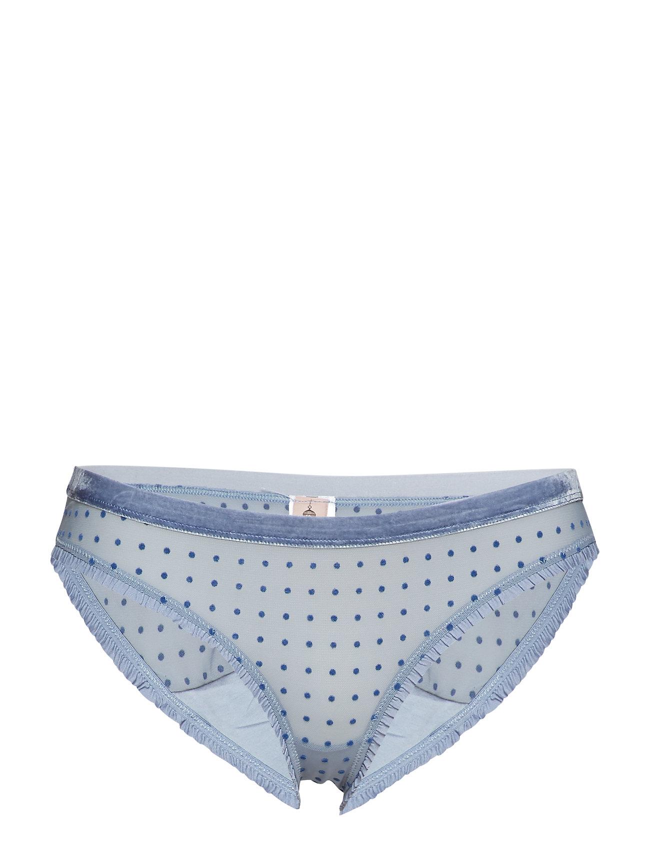 BECKSÖNDERGAARD Tallie Soft Dot Bottom - COUNTRY BLUE