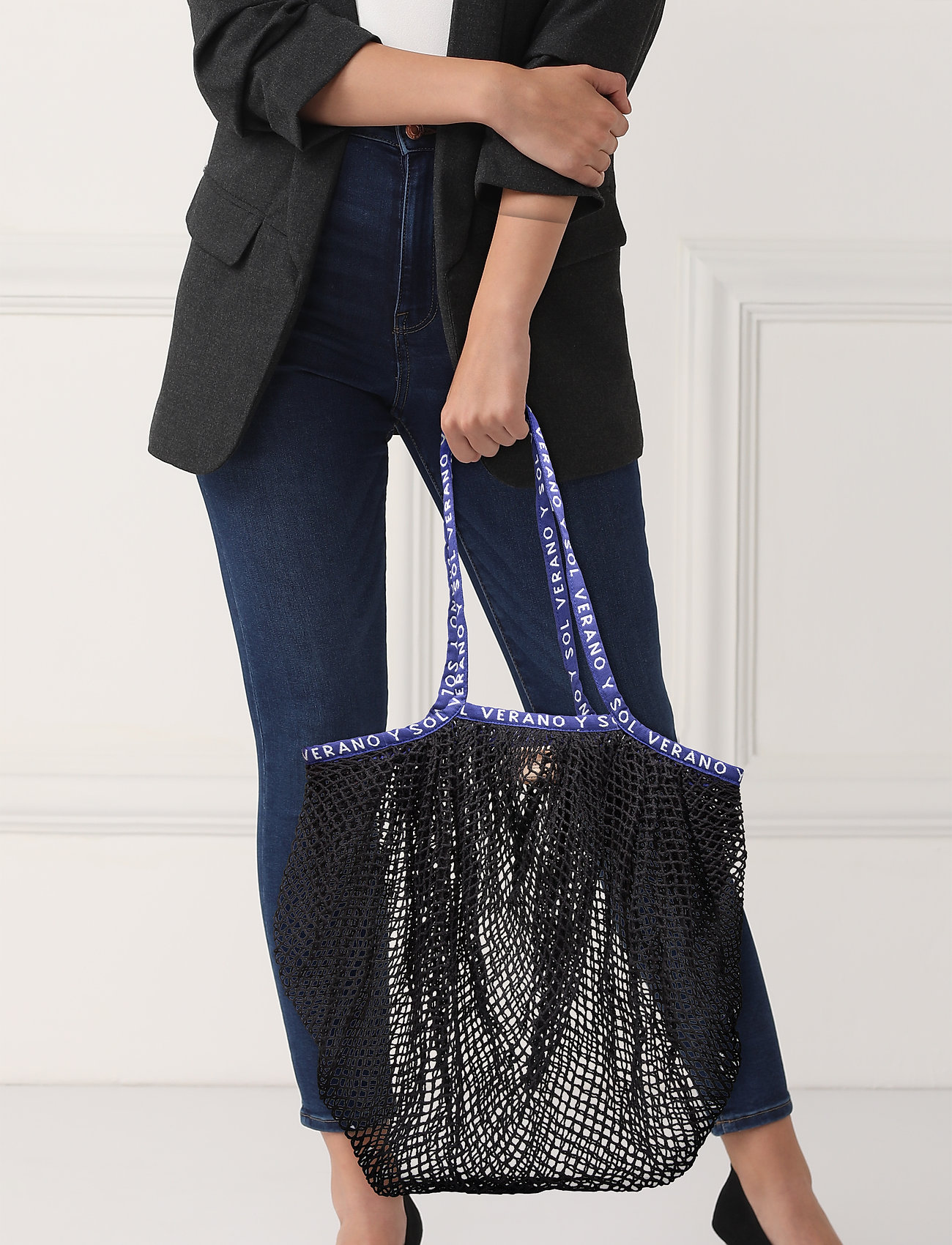 Becksöndergaard - Reya Market Bag - shoppere - black - 0