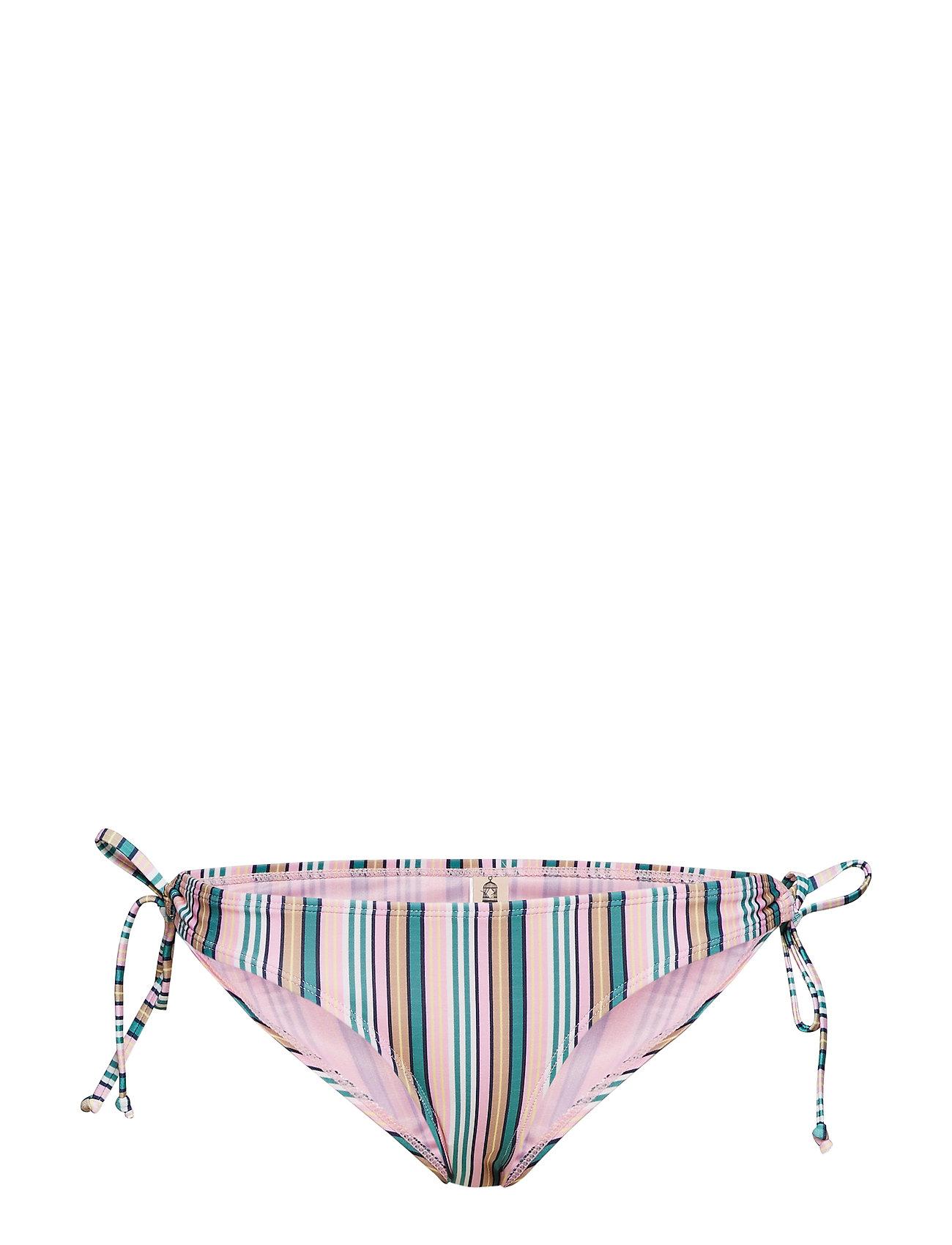 BECKSÖNDERGAARD Stria Bikini Bottom - GREEN
