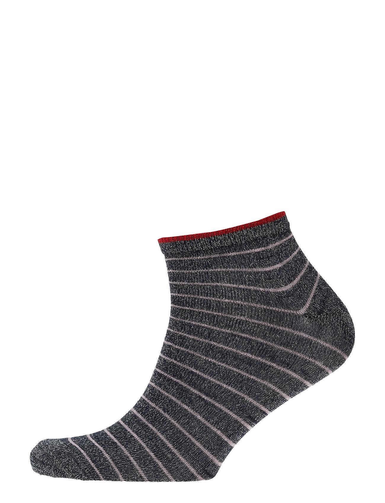 BECKSÖNDERGAARD Dollie Stripe Sock - NAVY BLUE