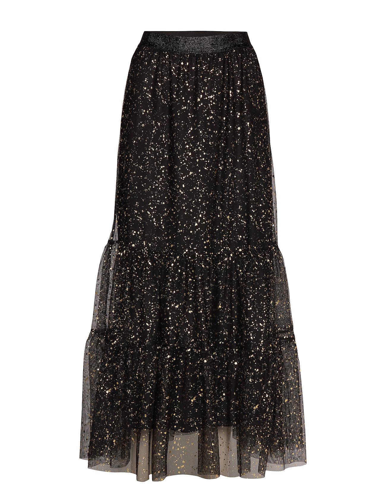 BECKSÖNDERGAARD Paint Dot Nynne Skirt - BLACK