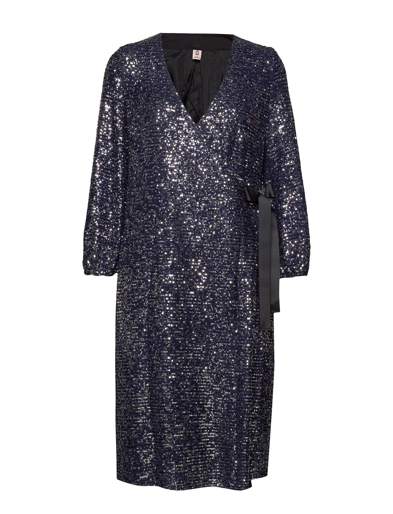 BECKSÖNDERGAARD Sequins Everlee Dress - BLUE