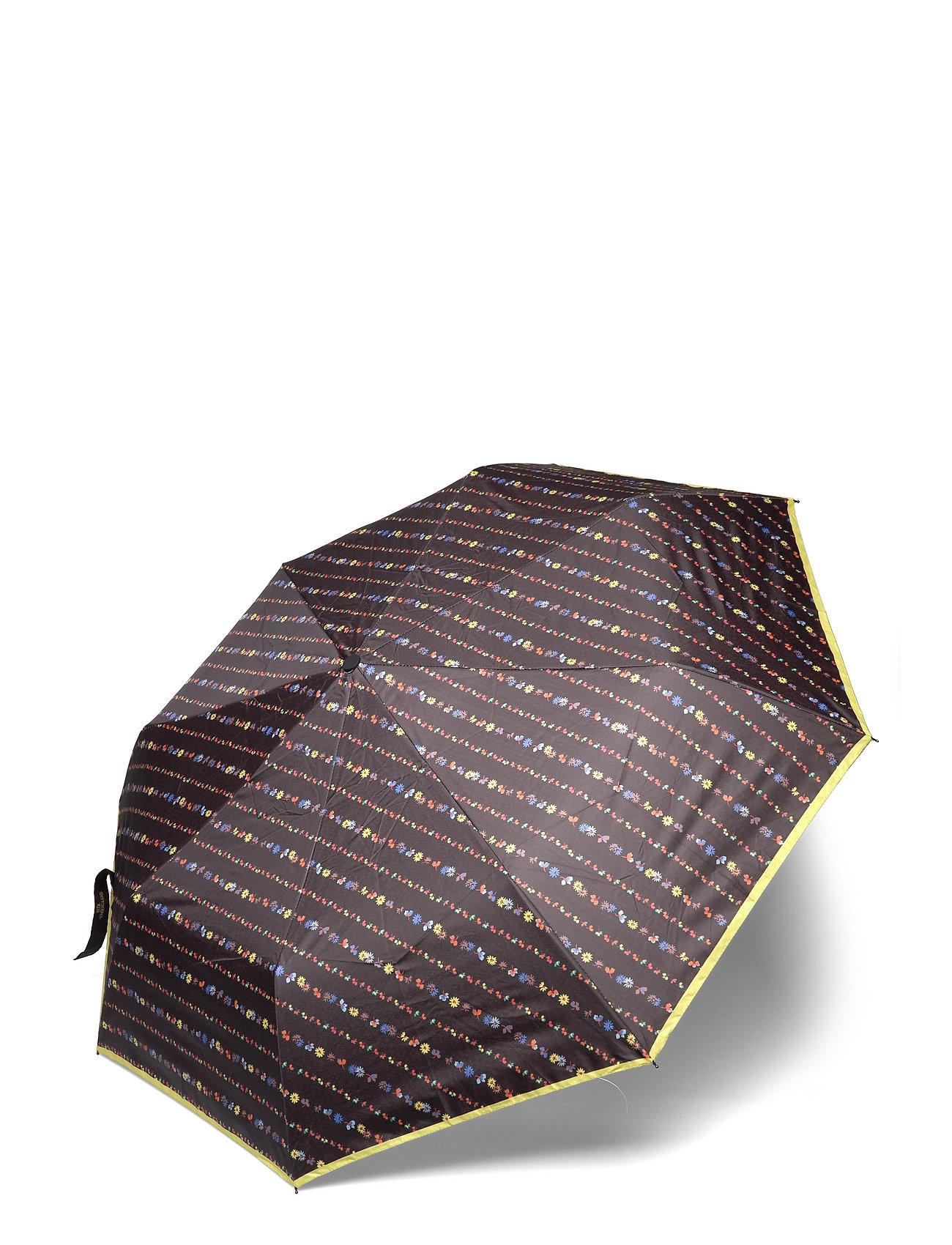 Liluye Umbrella Paraply Brun Becksöndergaard