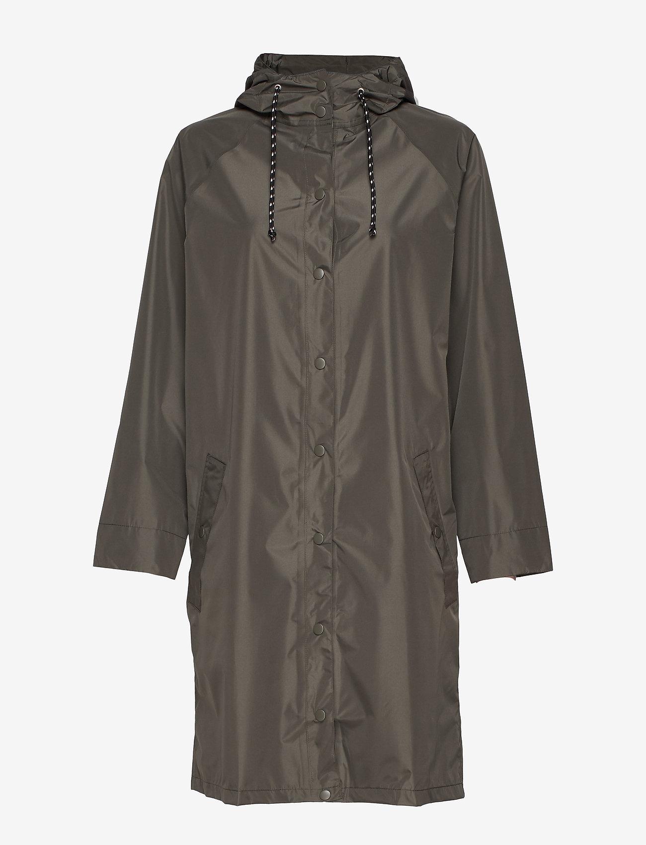 Becksöndergaard - Solid Magpie Raincoat - sadevaatteet - army green - 1