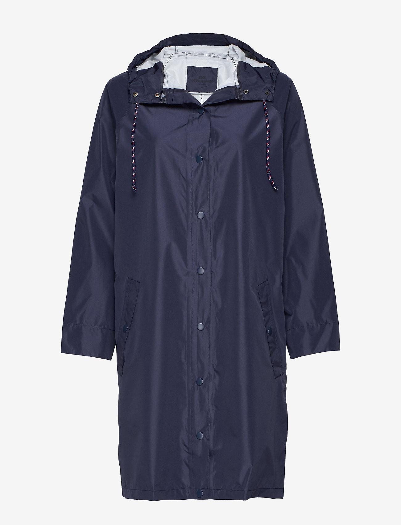 Becksöndergaard - Solid Magpie Raincoat - regntøy - navy blue - 0