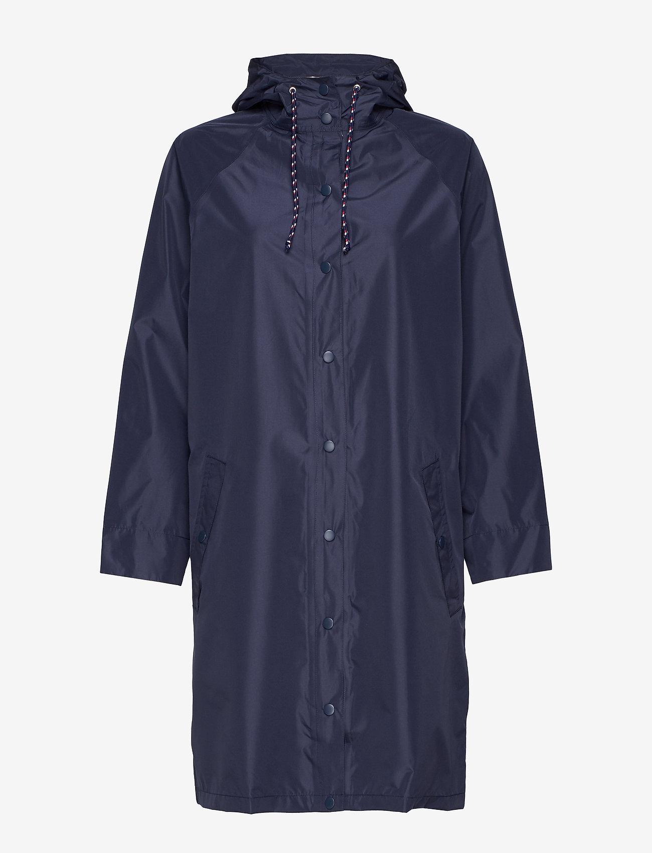 Becksöndergaard - Solid Magpie Raincoat - regntøy - navy blue - 1