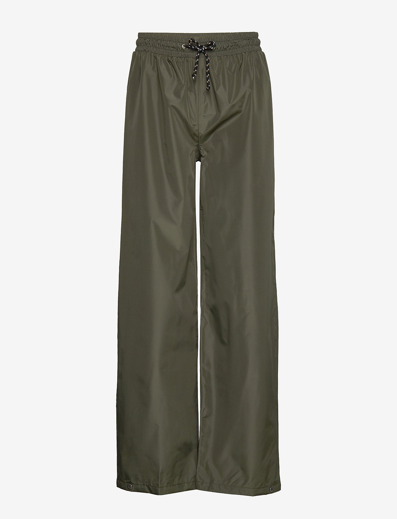 Becksöndergaard - Solid Maggie Rain Pants - pantalons larges - army green - 0