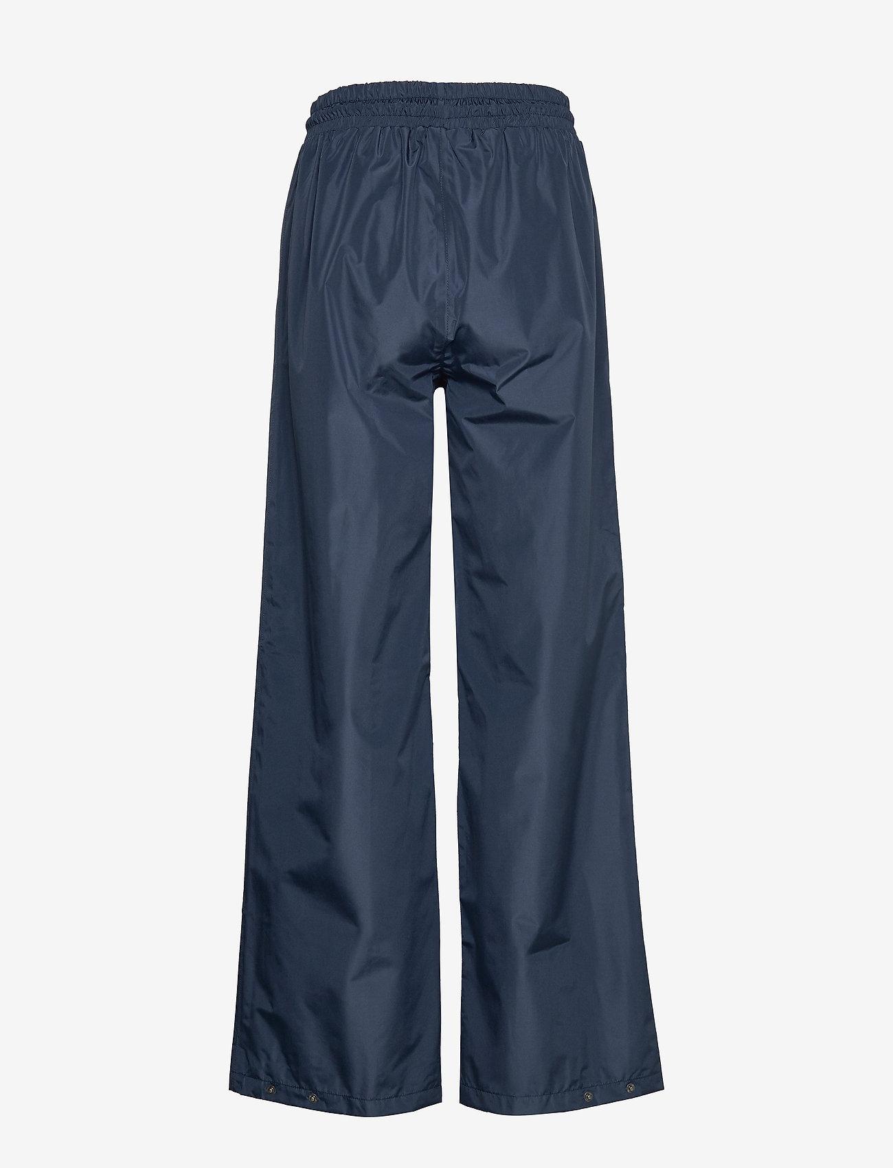 Becksöndergaard - Solid Maggie Rain Pants - pantalons larges - navy blue - 1