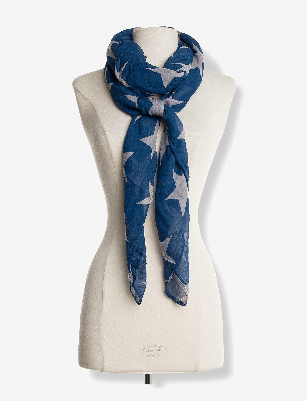 Becksöndergaard - Fine Twilight - tørklæder - mazarine blue - 1