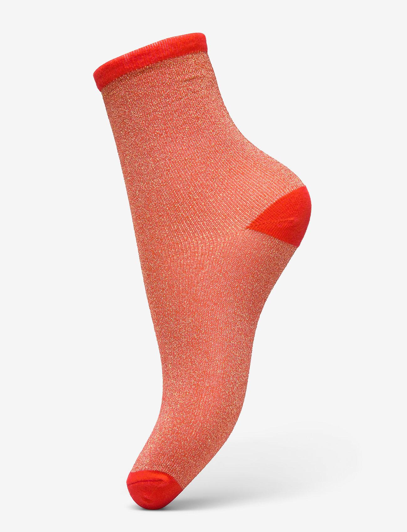 Becksöndergaard - Dina Solid - sokker - red love - 0