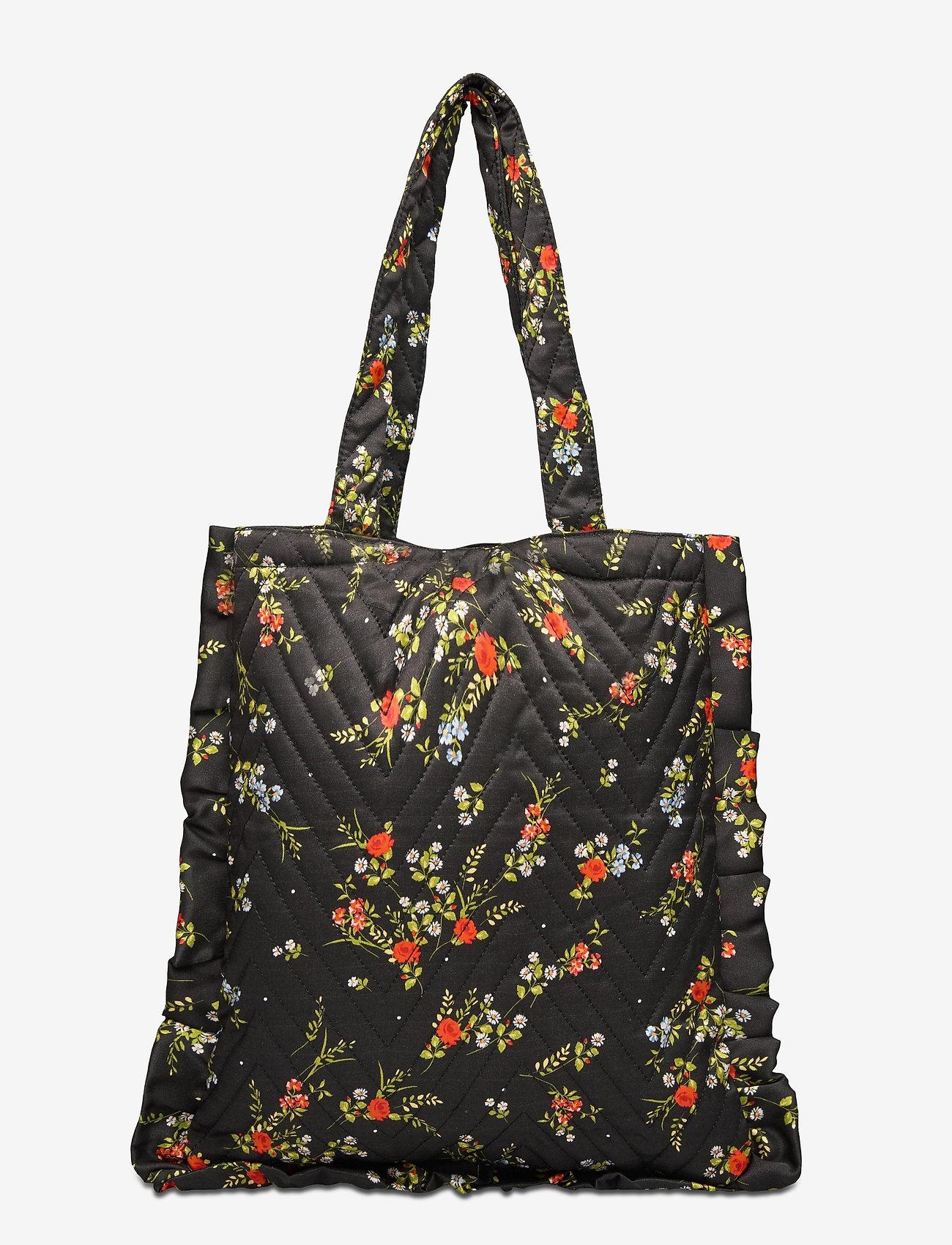 Becksöndergaard - Even Flower - shoppere - black - 1