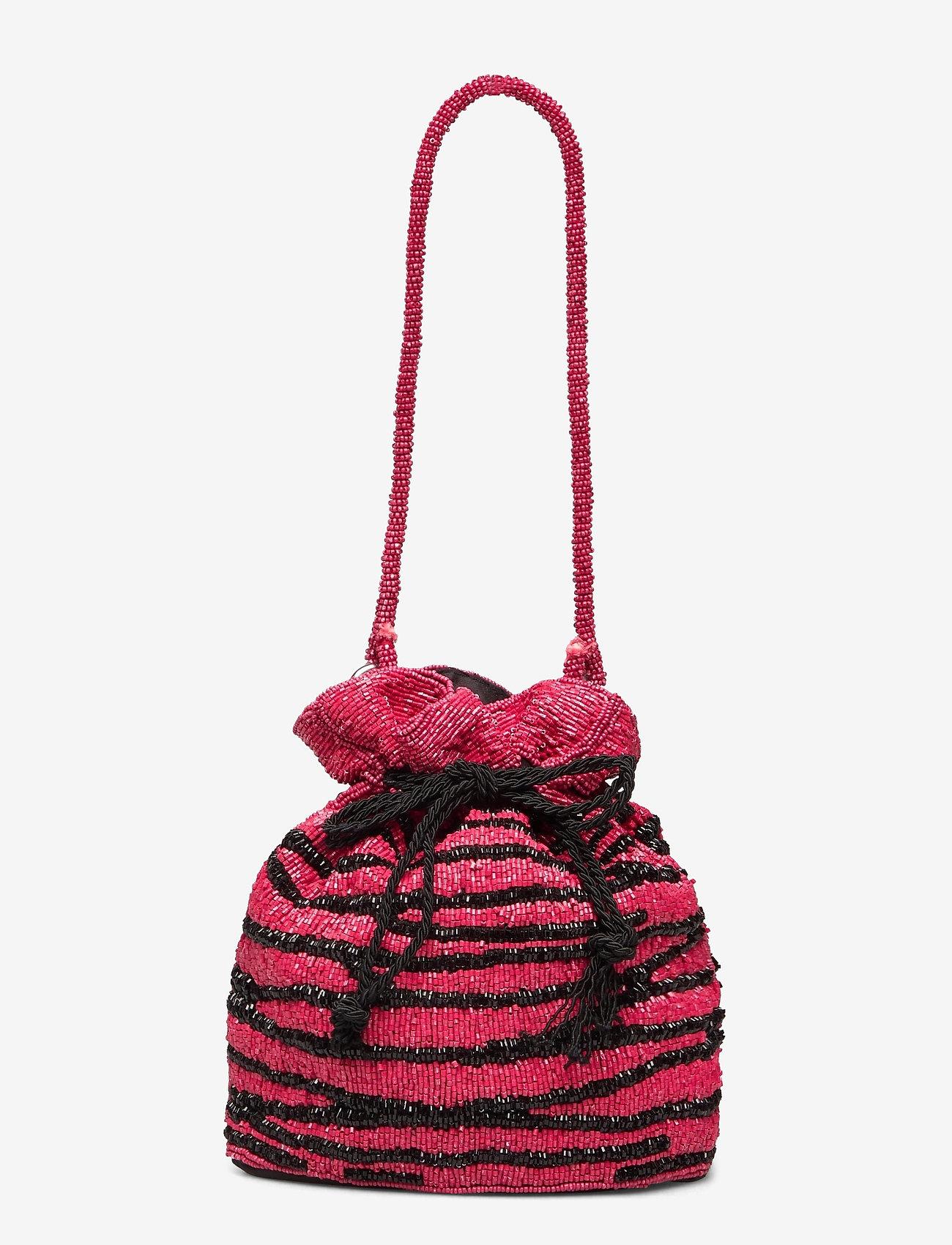 Becksöndergaard - Zebra Tora Bag - bucket bags - chinese red - 0