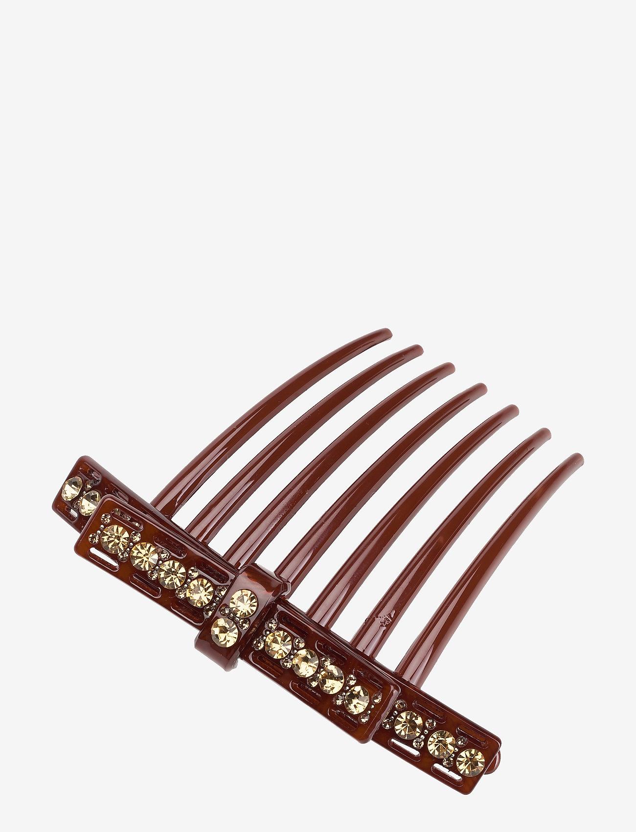 Becksöndergaard Lux Hair Clip - Akcesoria do włosów BROWNISH - Akcesoria