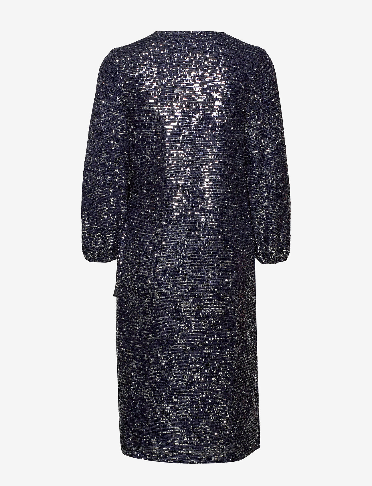 Becksöndergaard - Sequins Everlee Dress - kietaisumekot - blue - 1