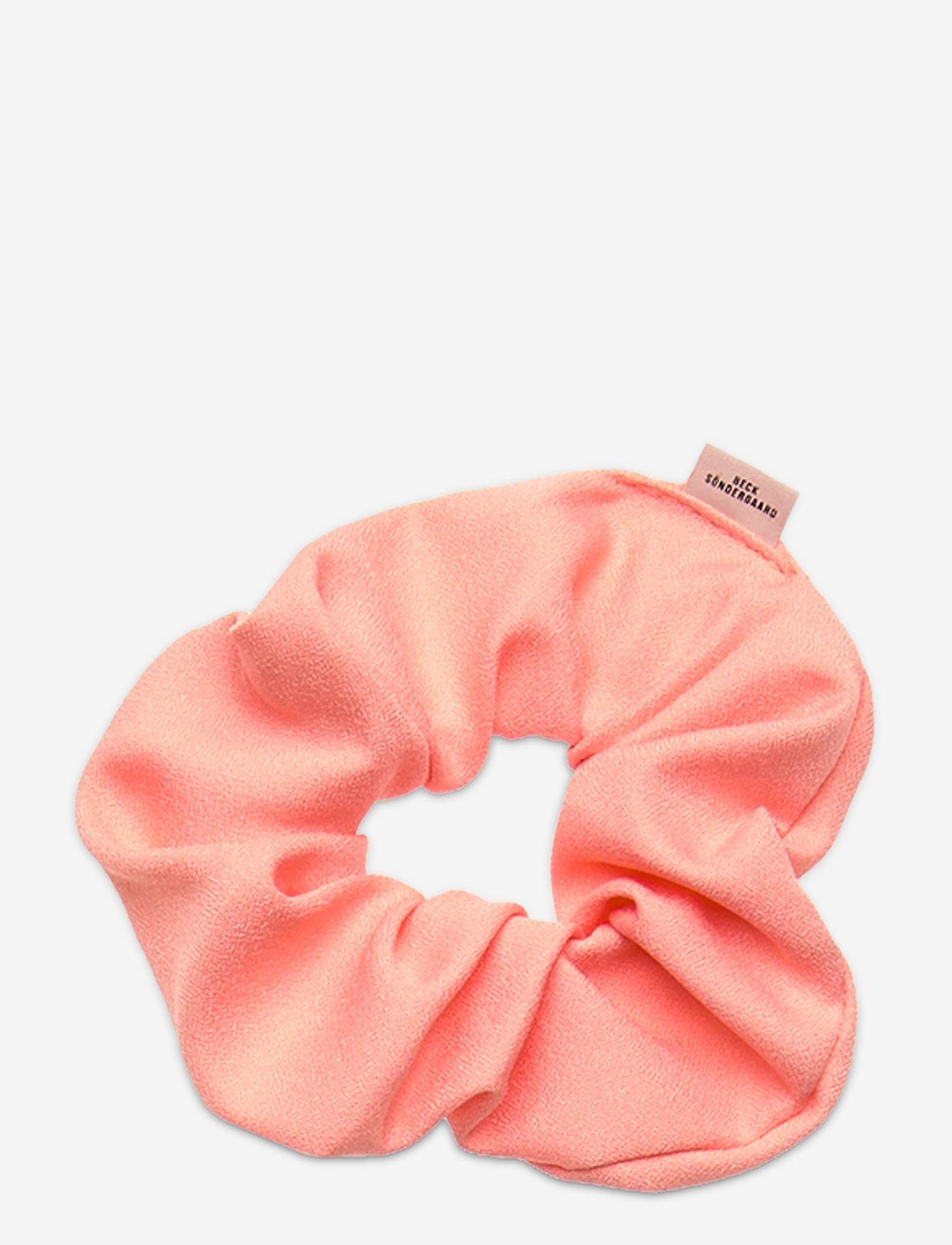 Becksöndergaard - Solid Scrunchie Elastic - haar accessoires - peach - 0