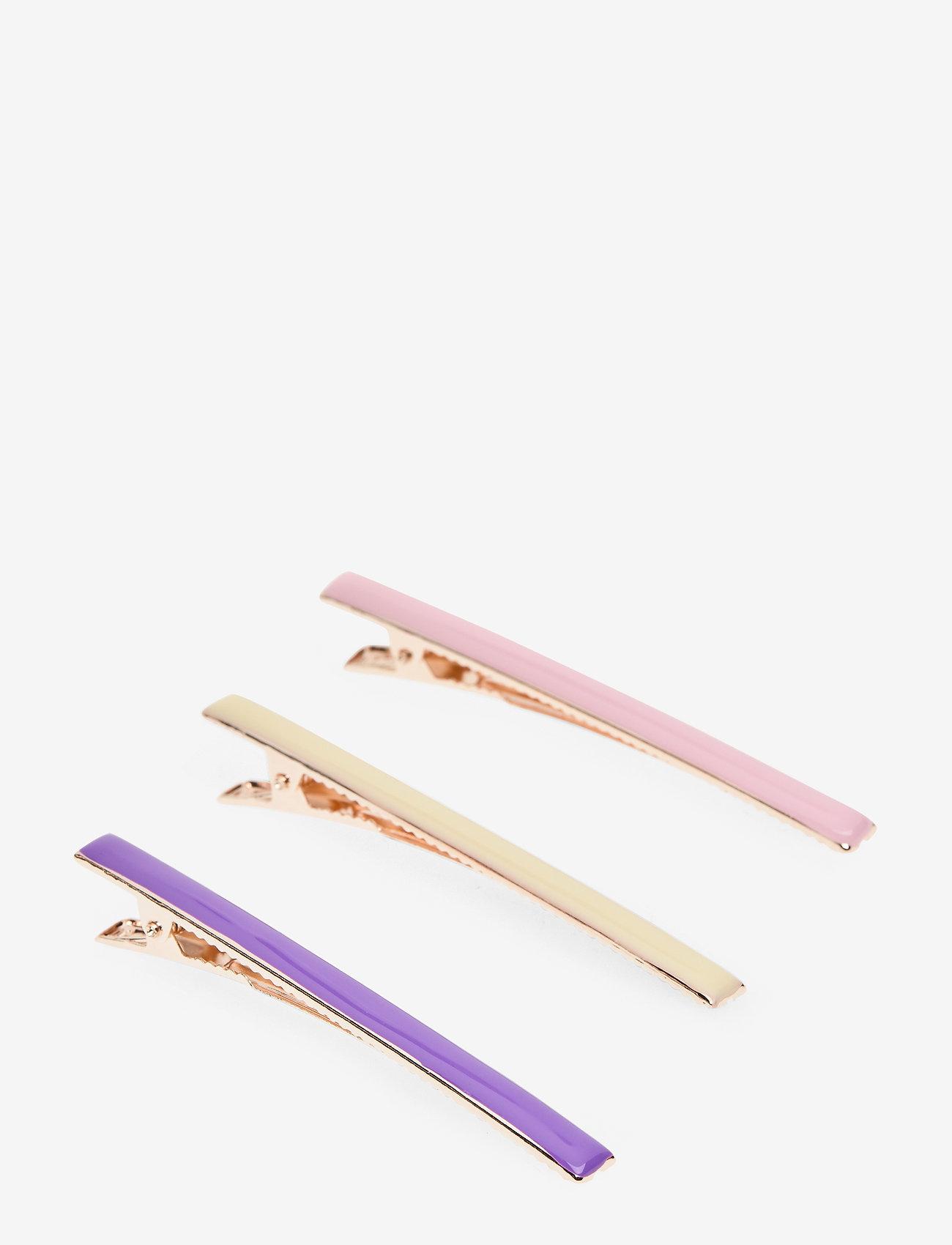 Becksöndergaard - Trio Hairclip - accessories - pink - 0