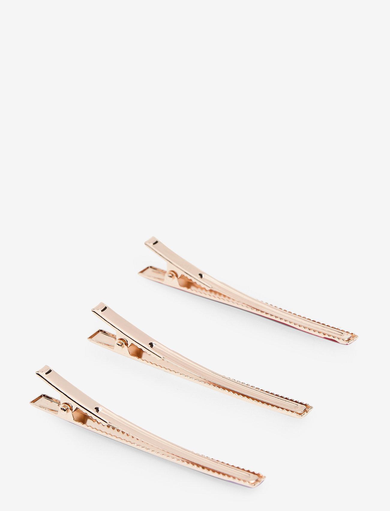 Becksöndergaard - Trio Hairclip - accessories - pink - 1