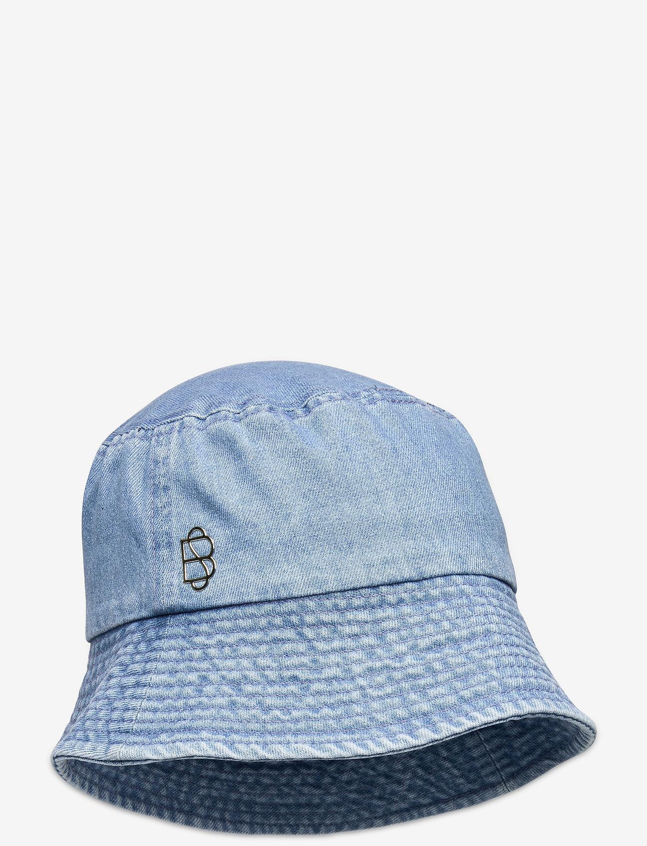 Becksöndergaard - Denim Bucket Hat - bucket hats - forever blue - 0