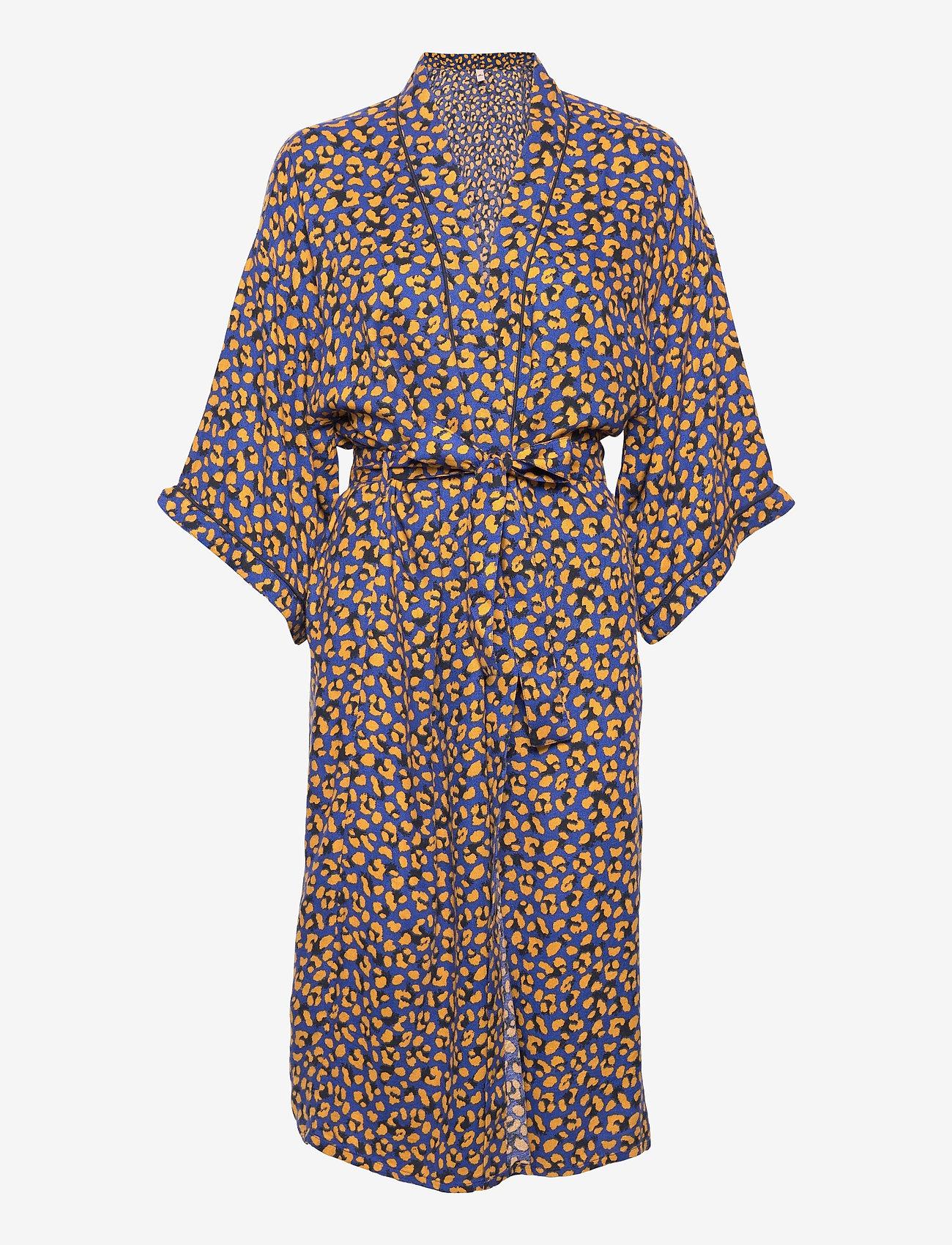 Becksöndergaard - Linora Liberte Kimono - bedrok - mazarine blue - 0