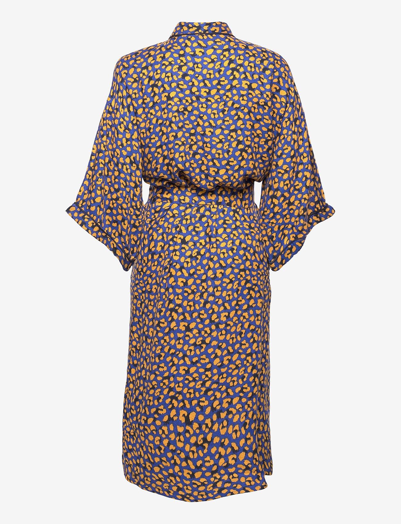 Becksöndergaard - Linora Liberte Kimono - bedrok - mazarine blue - 1