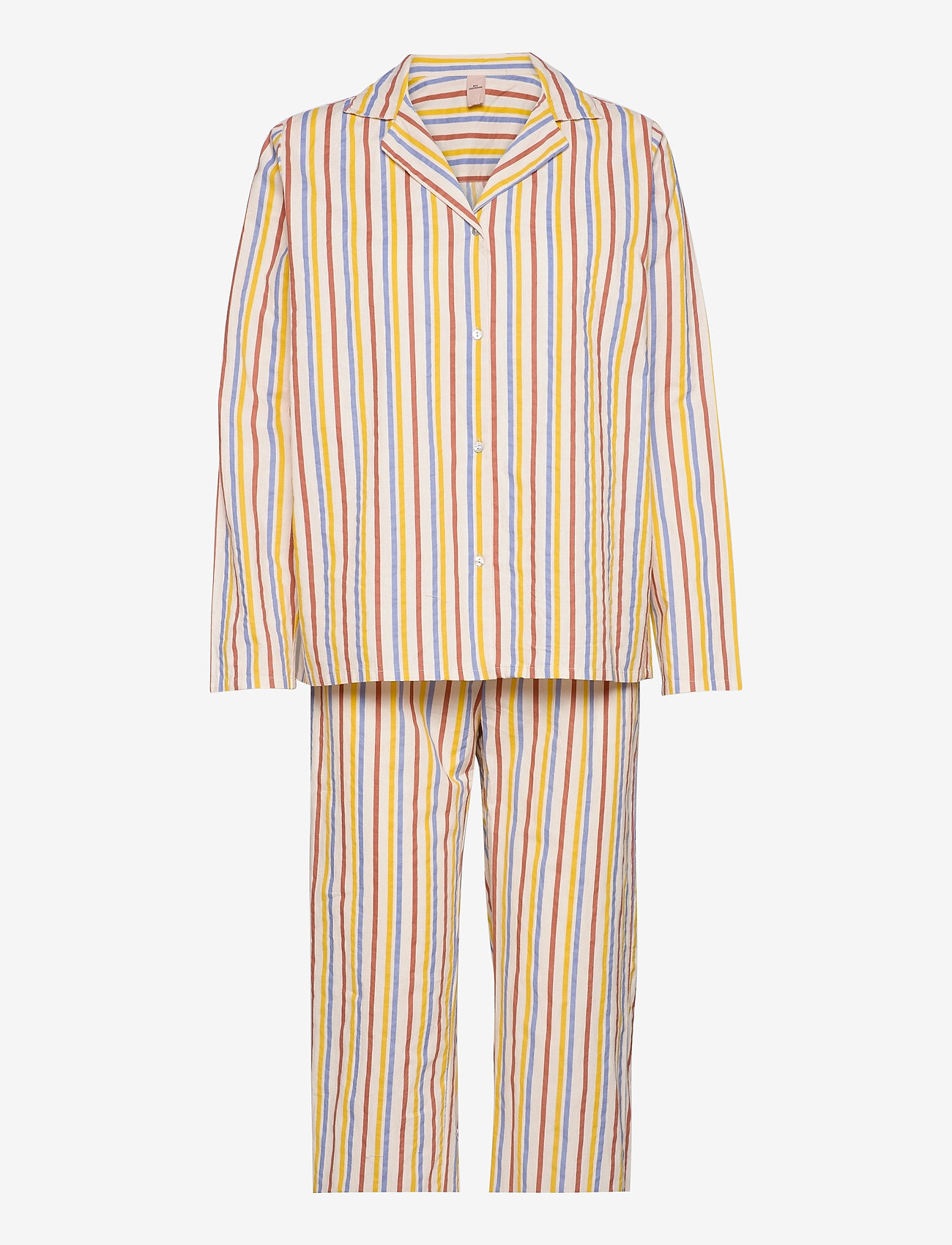 Becksöndergaard - Stripe Pyjamas Set - pyjamas - multi col. - 0