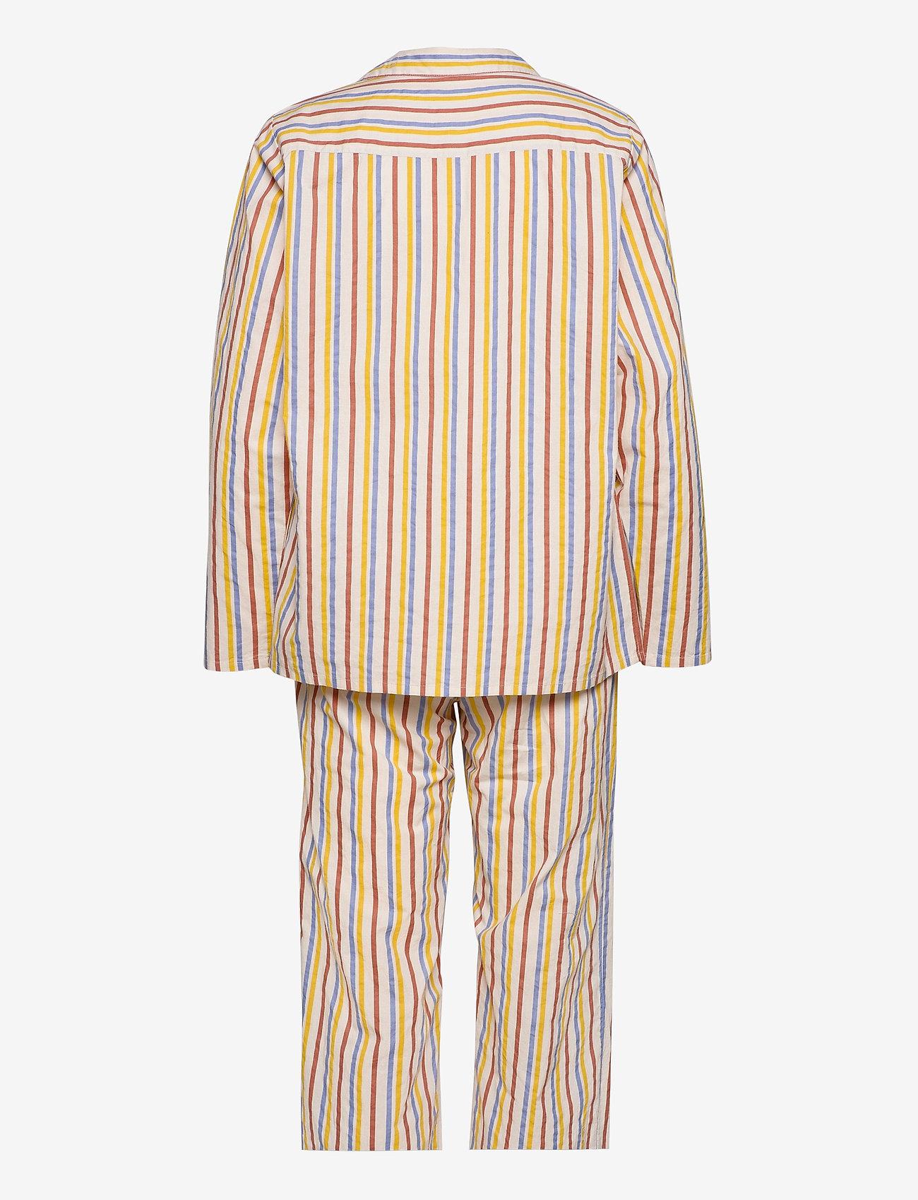 Becksöndergaard - Stripe Pyjamas Set - pyjamas - multi col. - 1