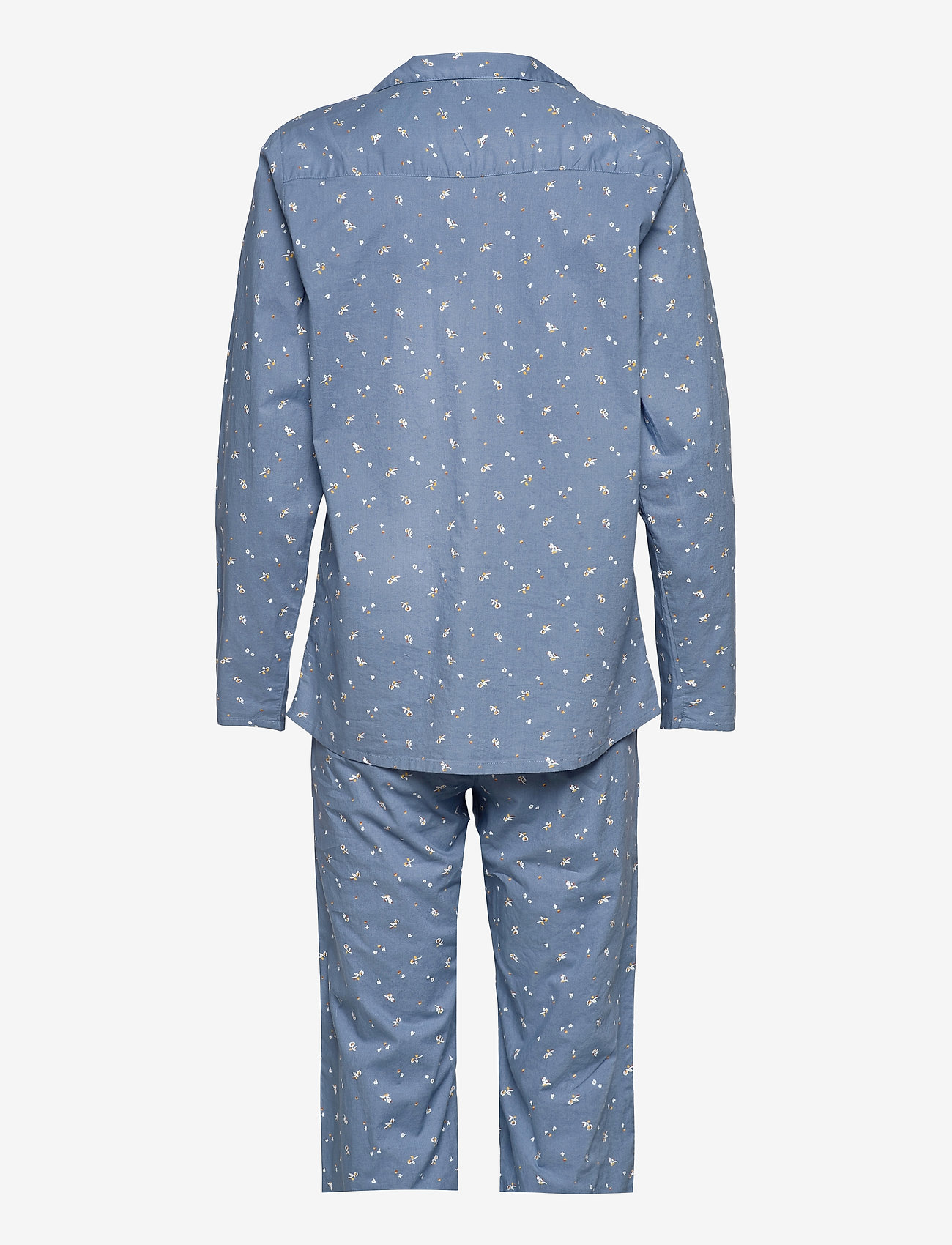 Becksöndergaard - Tiny Flower Pyjamas Set - pyjamas - forever blue - 1