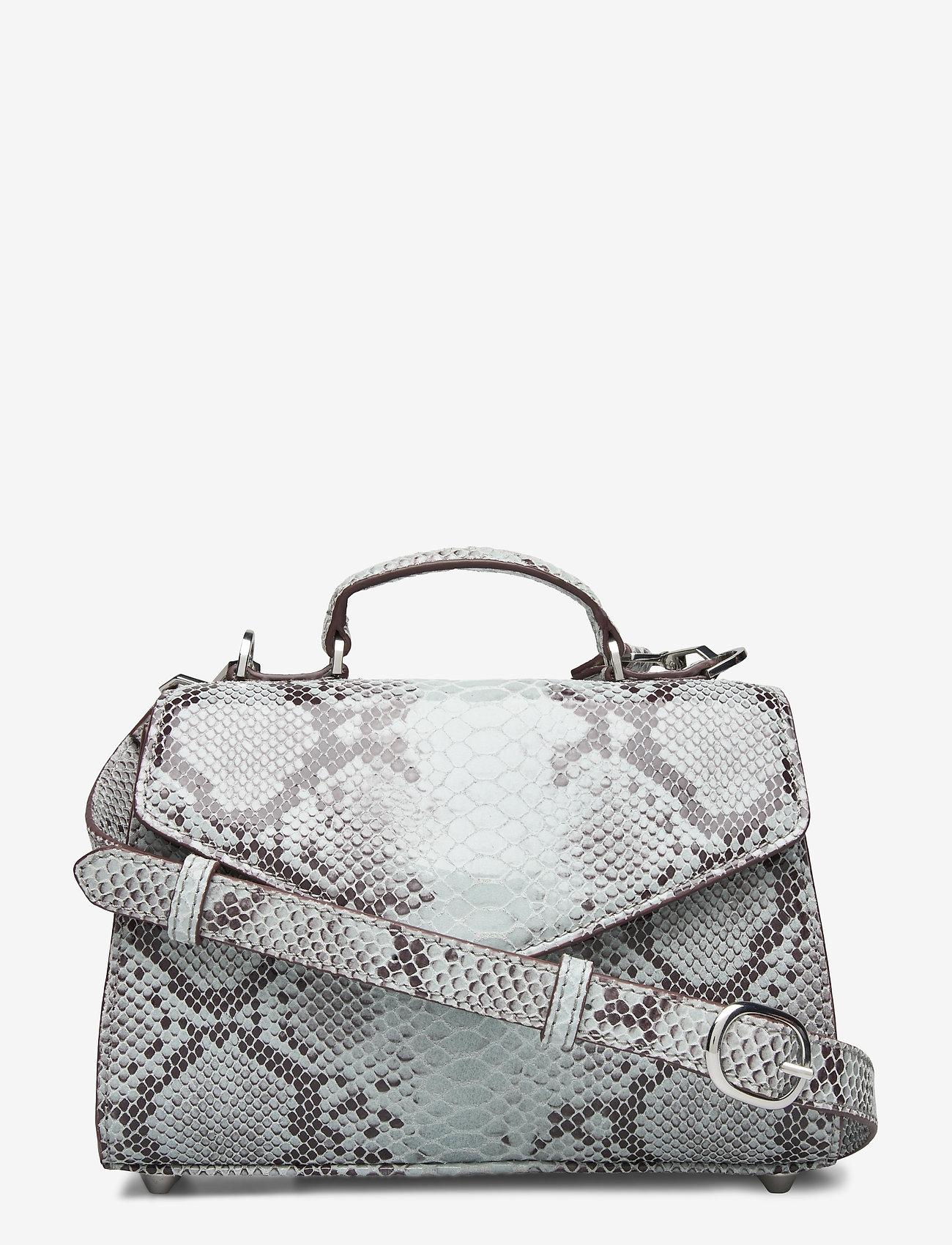 Becksöndergaard - Snake Petit Malery Bag - handväskor - white - 0