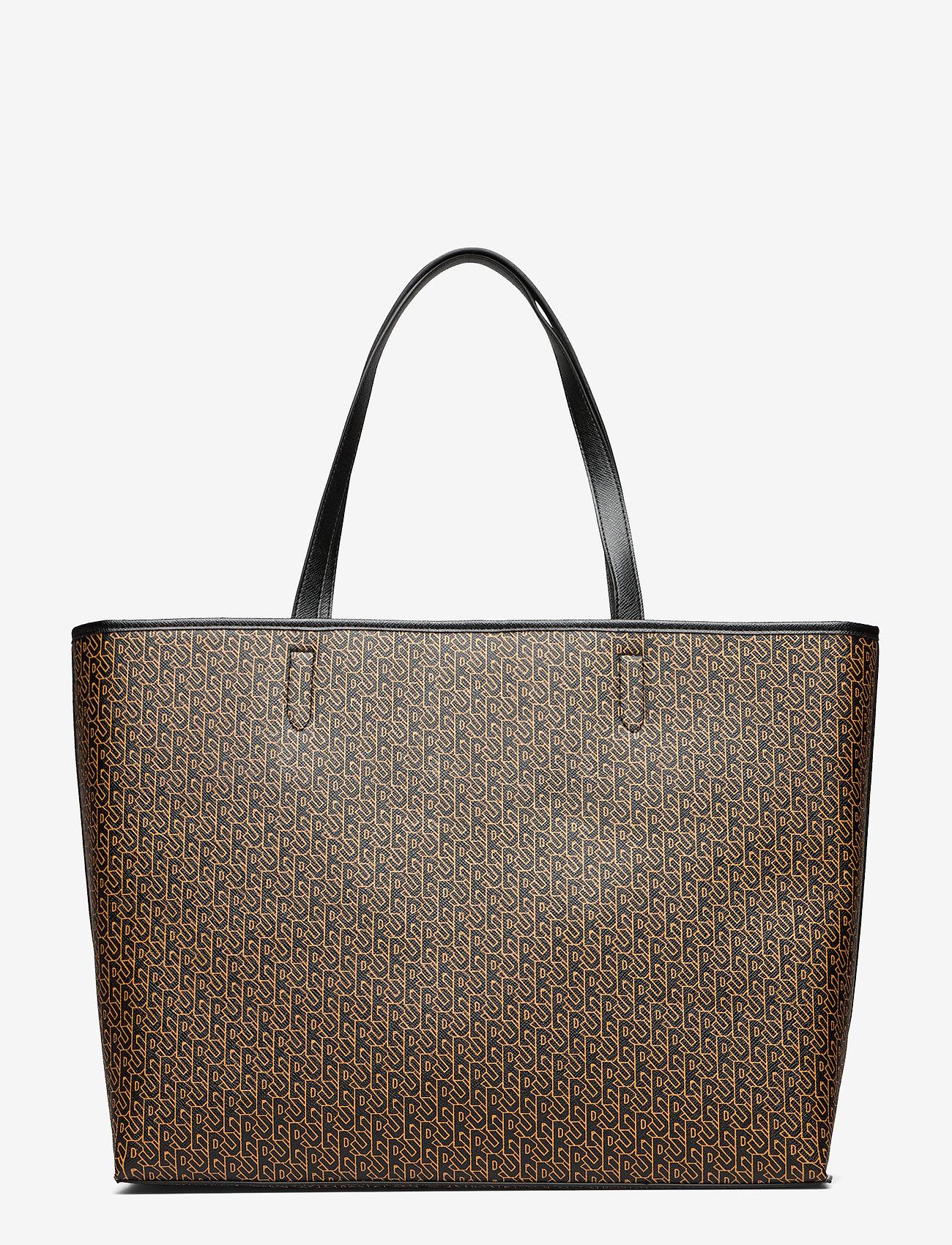 Becksöndergaard - Besra Tonal Lotta Bag - shoppere - black - 1