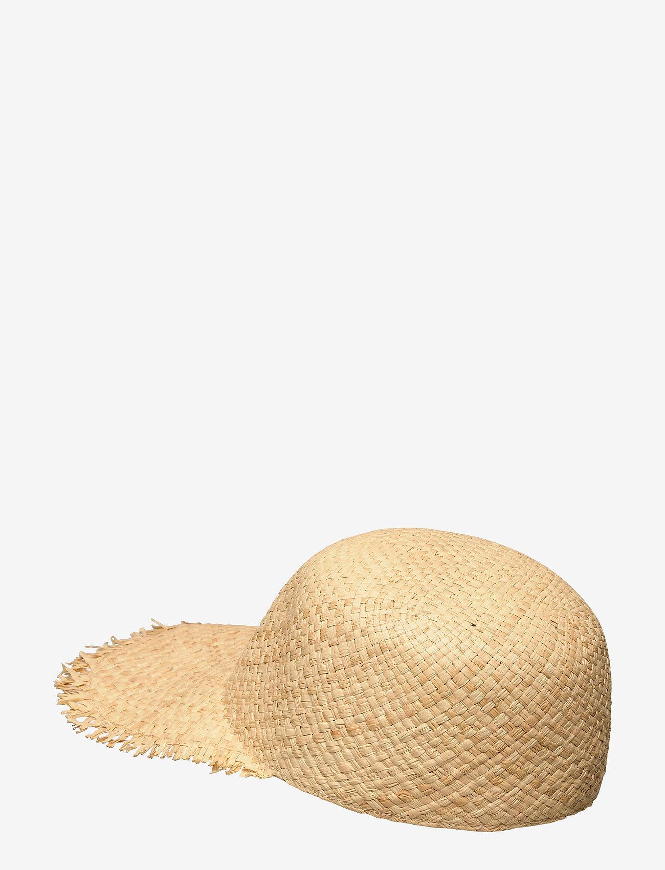 Becksöndergaard Fray Kalani Hat - Czapki i kapelusze NATURE - Akcesoria
