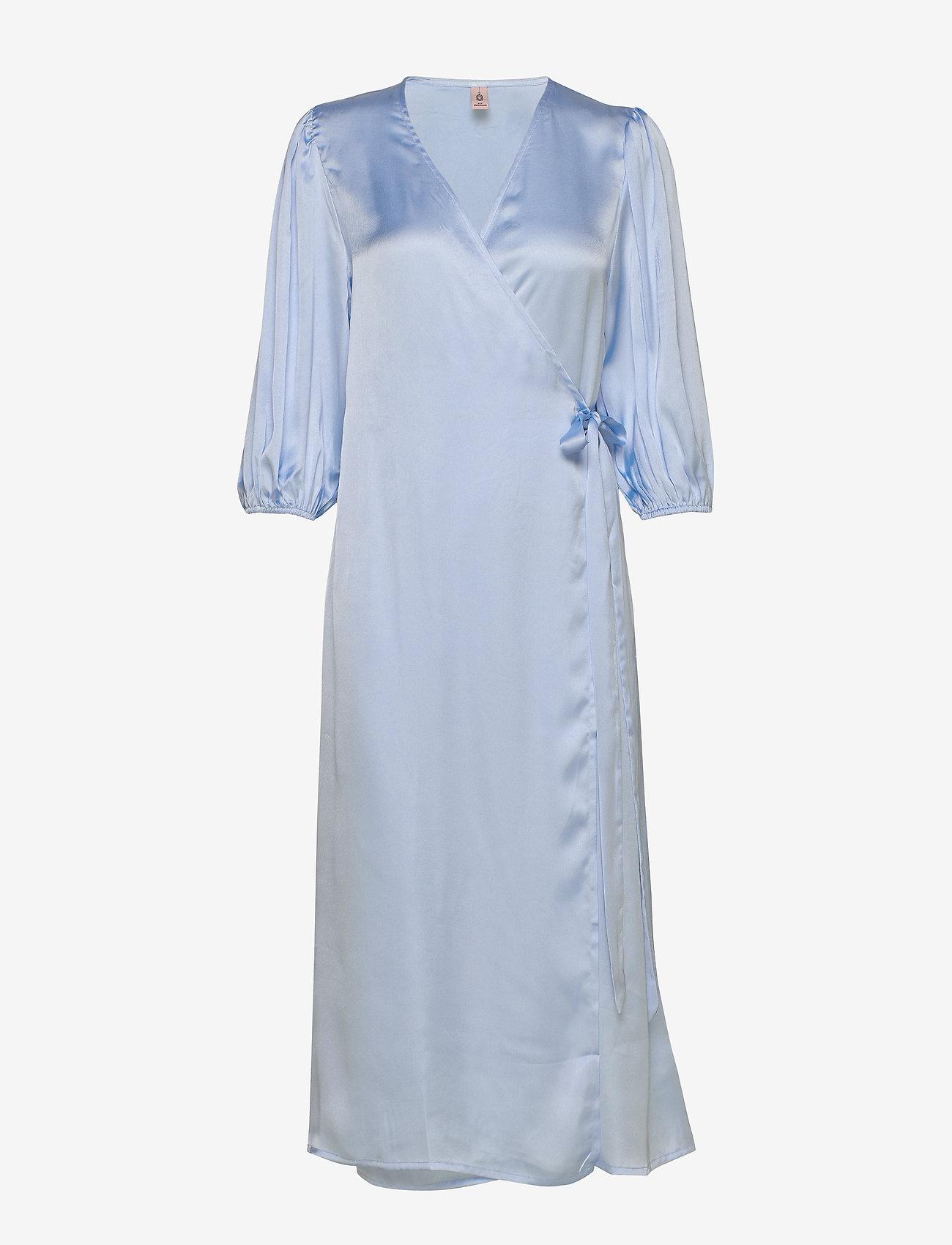 Becksöndergaard - Holiday dress - kietaisumekot - chambray blue - 0