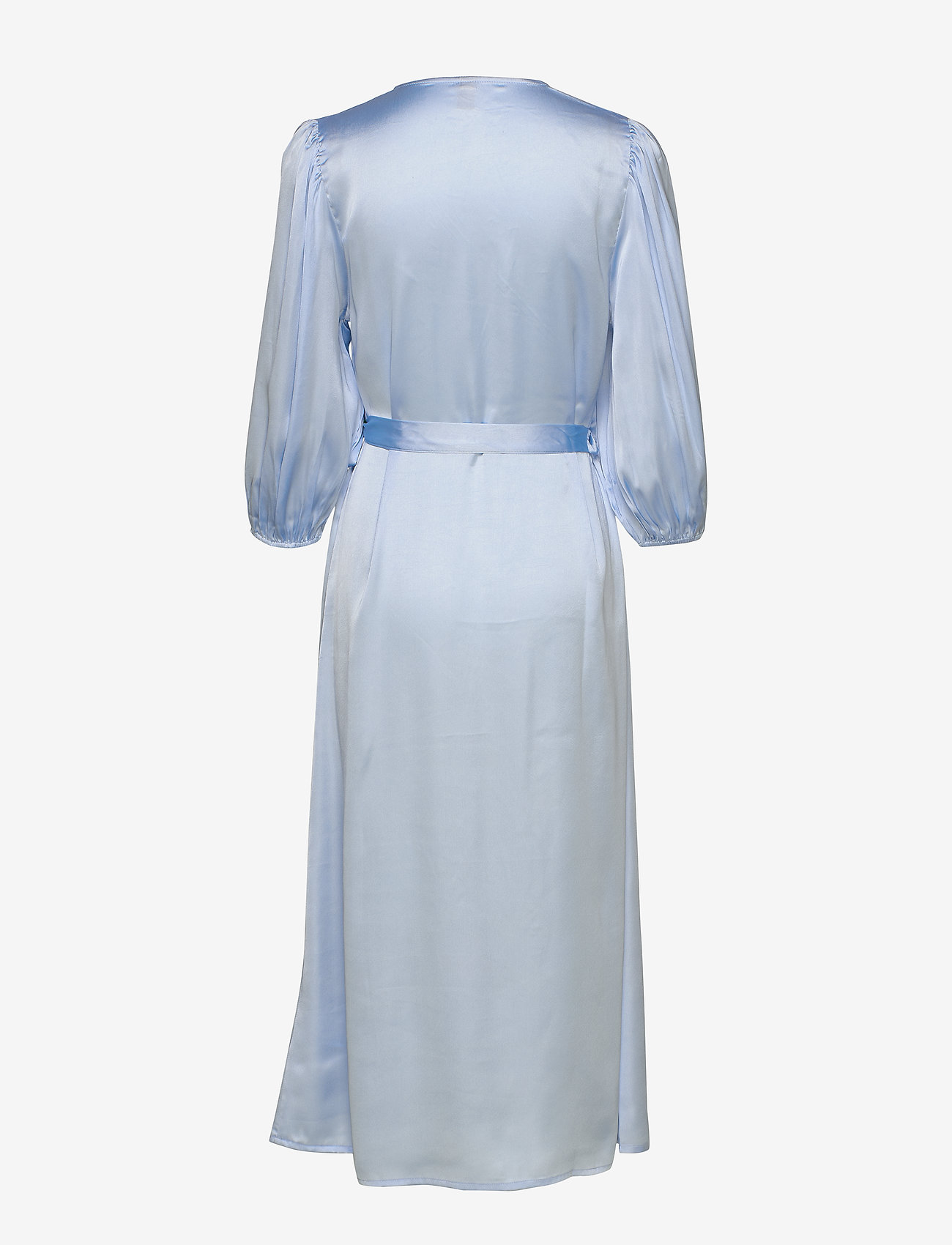 Becksöndergaard - Holiday dress - kietaisumekot - chambray blue - 1