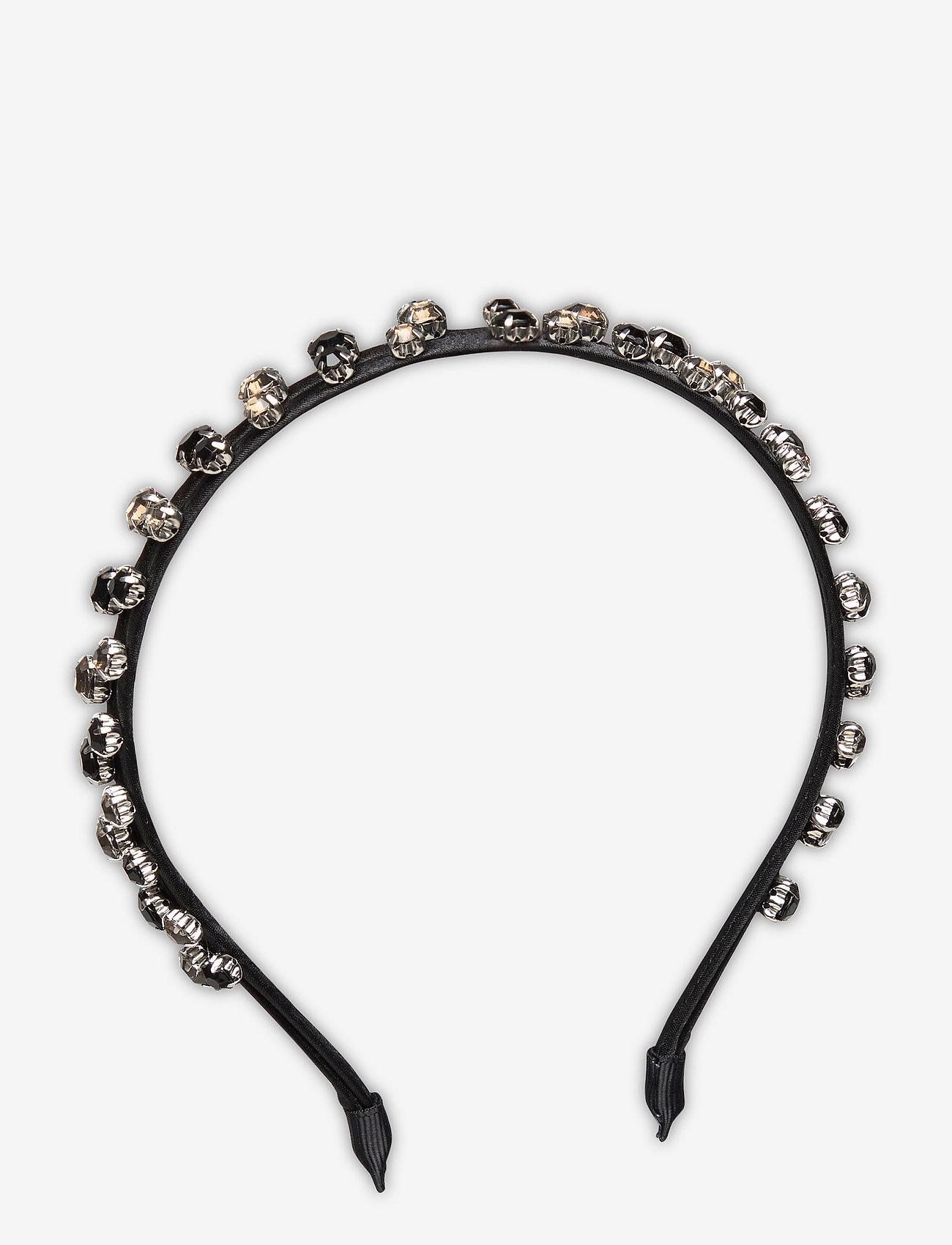Becksöndergaard - Embellished Marella Hairbrace - haar accessoires - black - 0