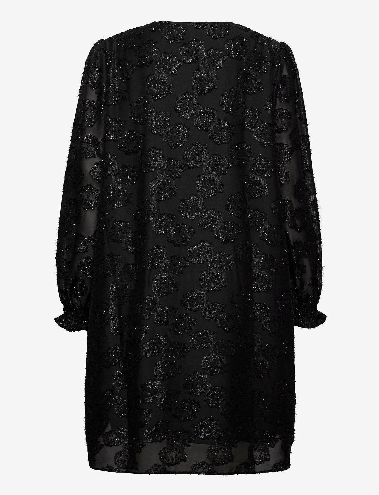 Becksöndergaard - Glitrala Sanna Dress - korte kjoler - black - 1