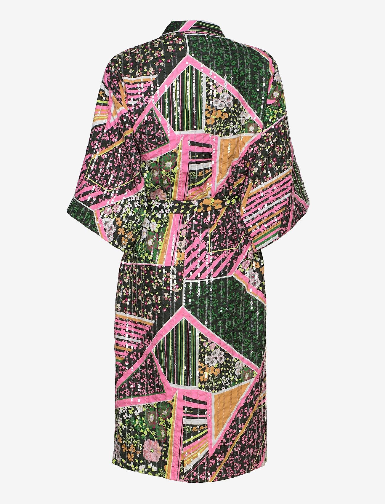 Becksöndergaard - Flowerwhirl Kimono Dress - kimonot - multi col. - 1