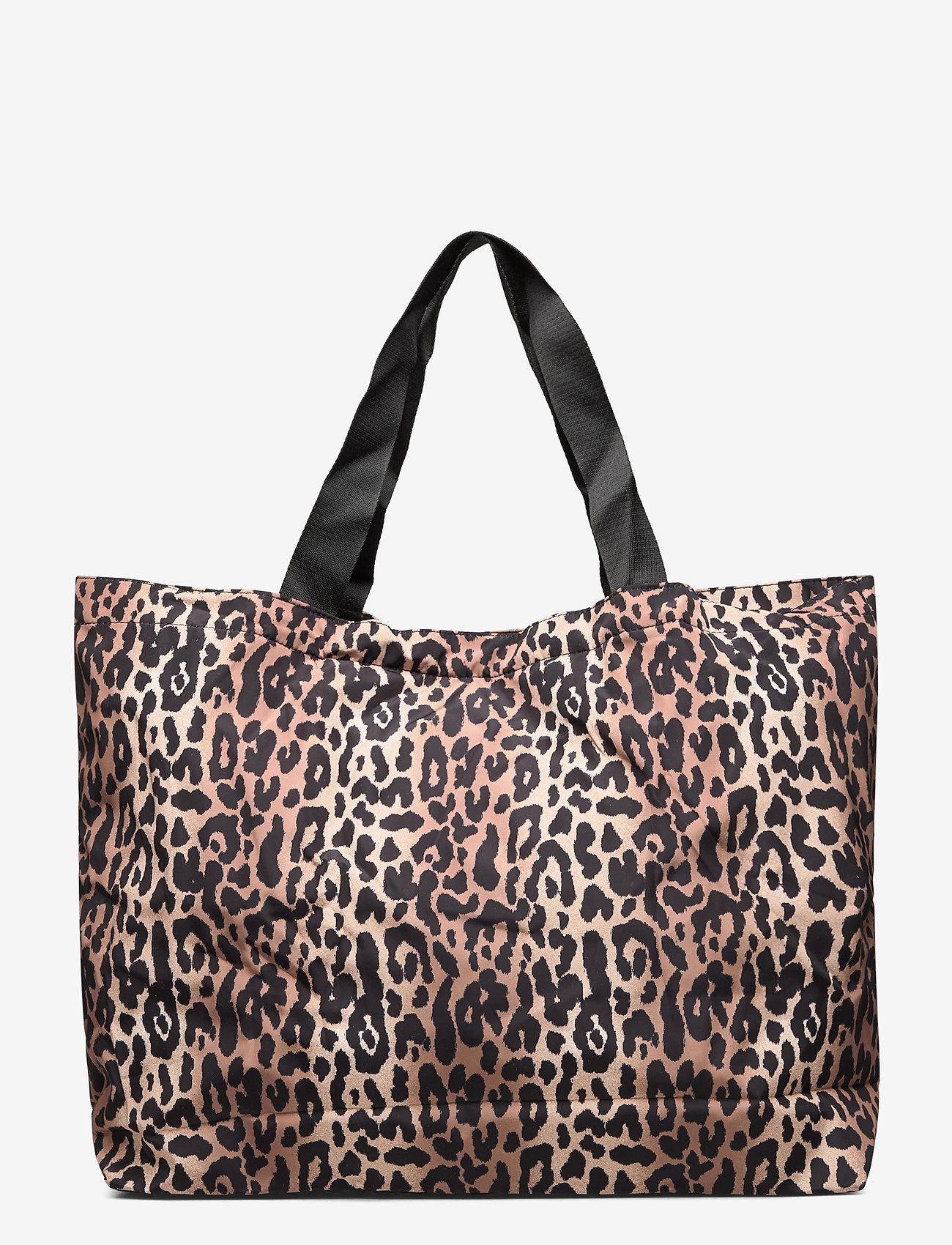 Becksöndergaard - Leolar Foldable Bag - shoppere - beige - 1