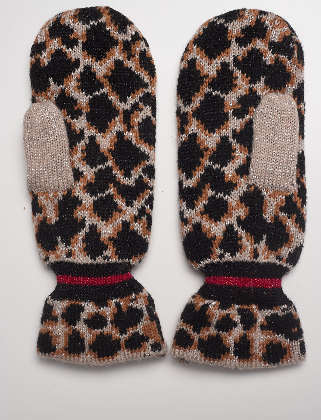 Becksöndergaard - Leoporo Emerald Mittens - handschoenen - brownish - 1
