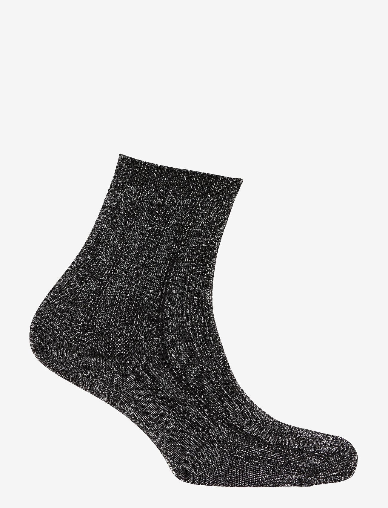 Becksöndergaard - Glitter Drake Sock - sokker - black - 1