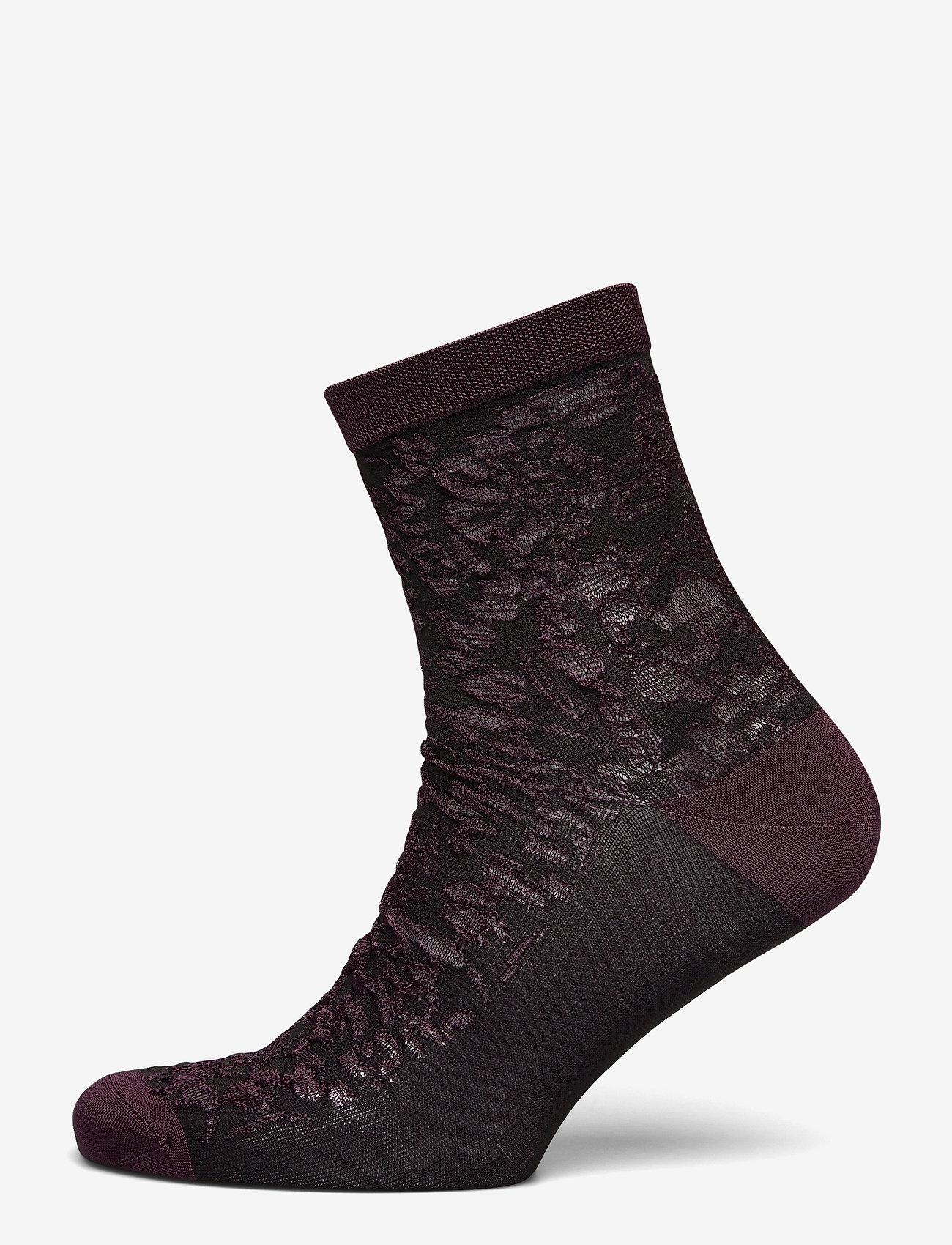 Becksöndergaard - Flory Sora Sock - socks - winetasting - 1