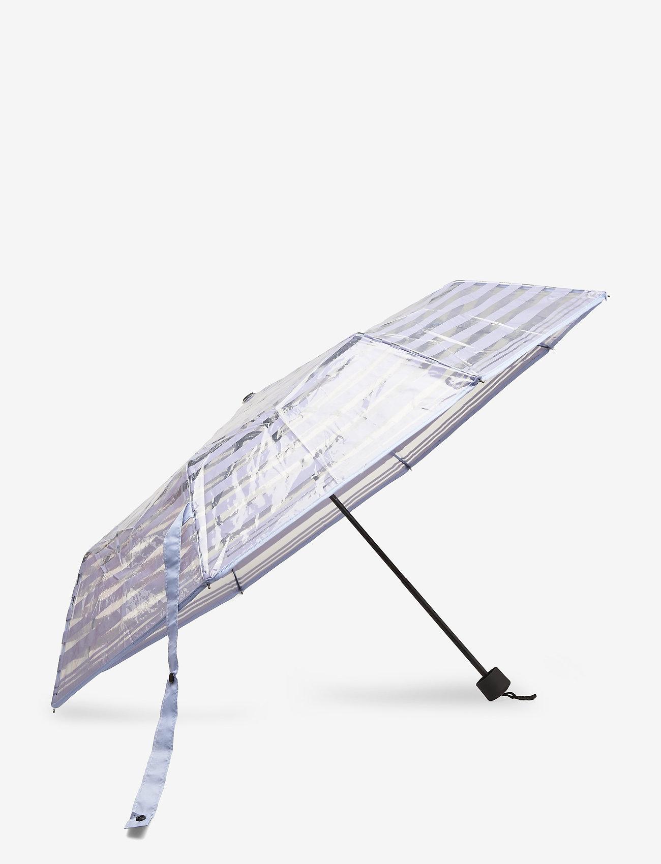 Becksöndergaard - Striped Transparent Umbrella - parasole - eventide - 1