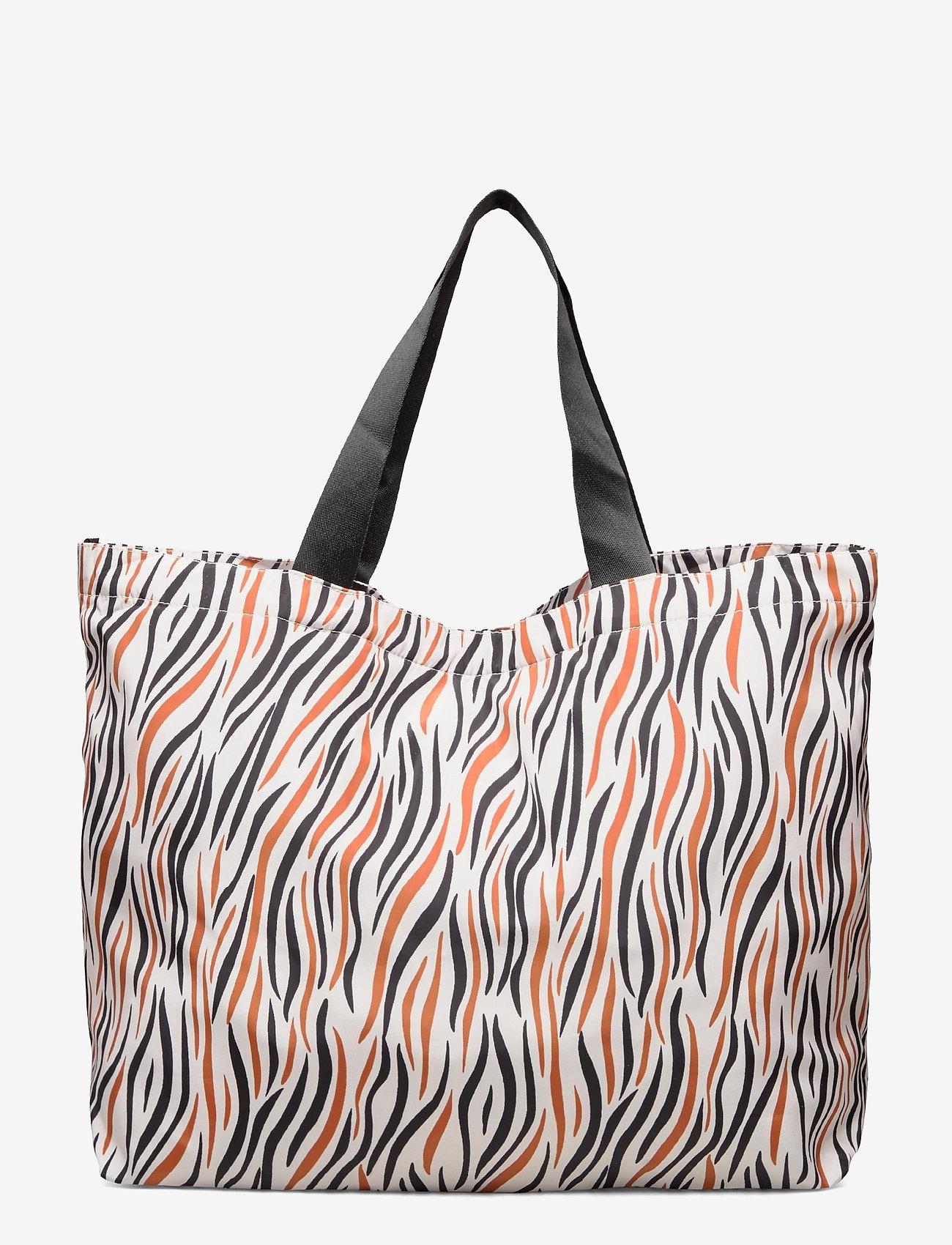 Becksöndergaard - Zobra Foldable Bag - totes - sand - 0