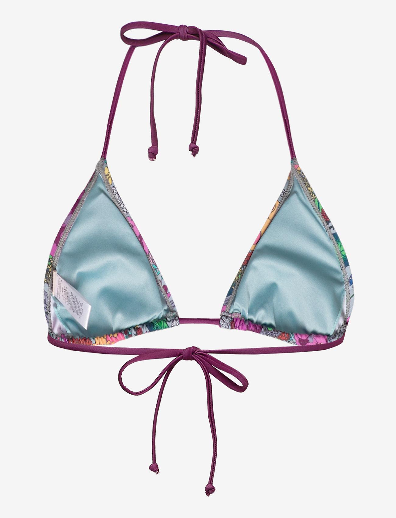 Becksöndergaard - Bluma Bikini Top - bikinitopper - blue surf - 1