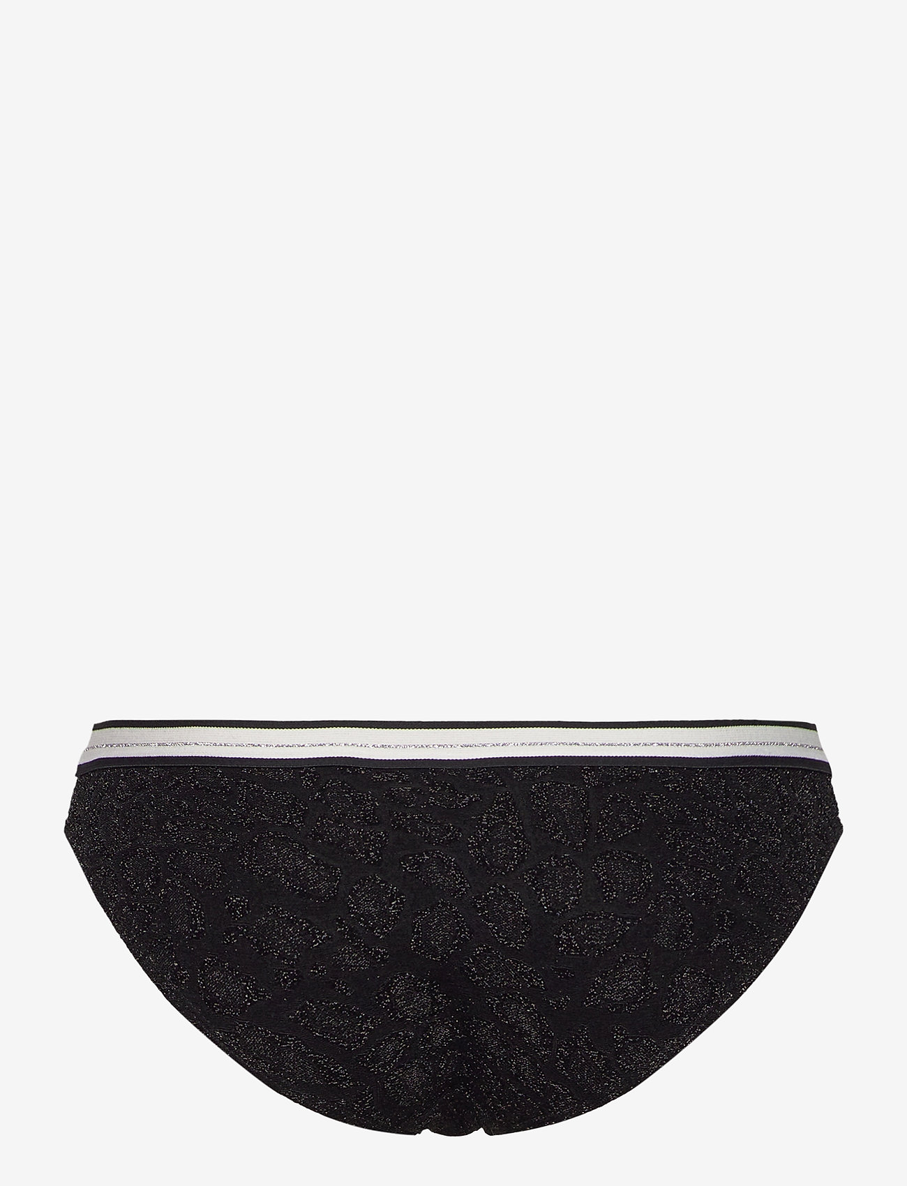 Becksöndergaard - Glitzie Elastic Bikini Bottom - bikini truser - black - 1