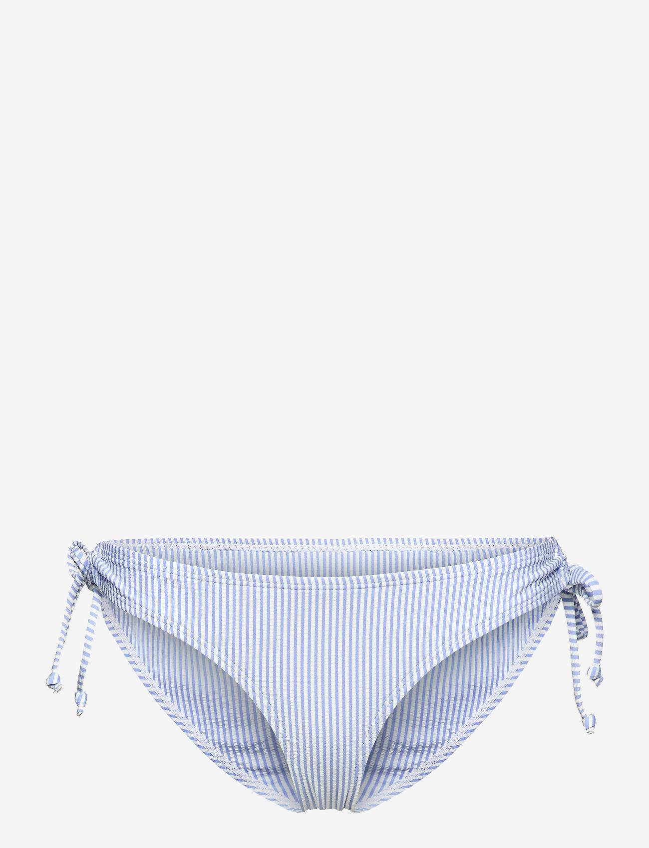 Becksöndergaard - Striba Bibi Bikini Bottom - bikiniunderdeler - blue - 1