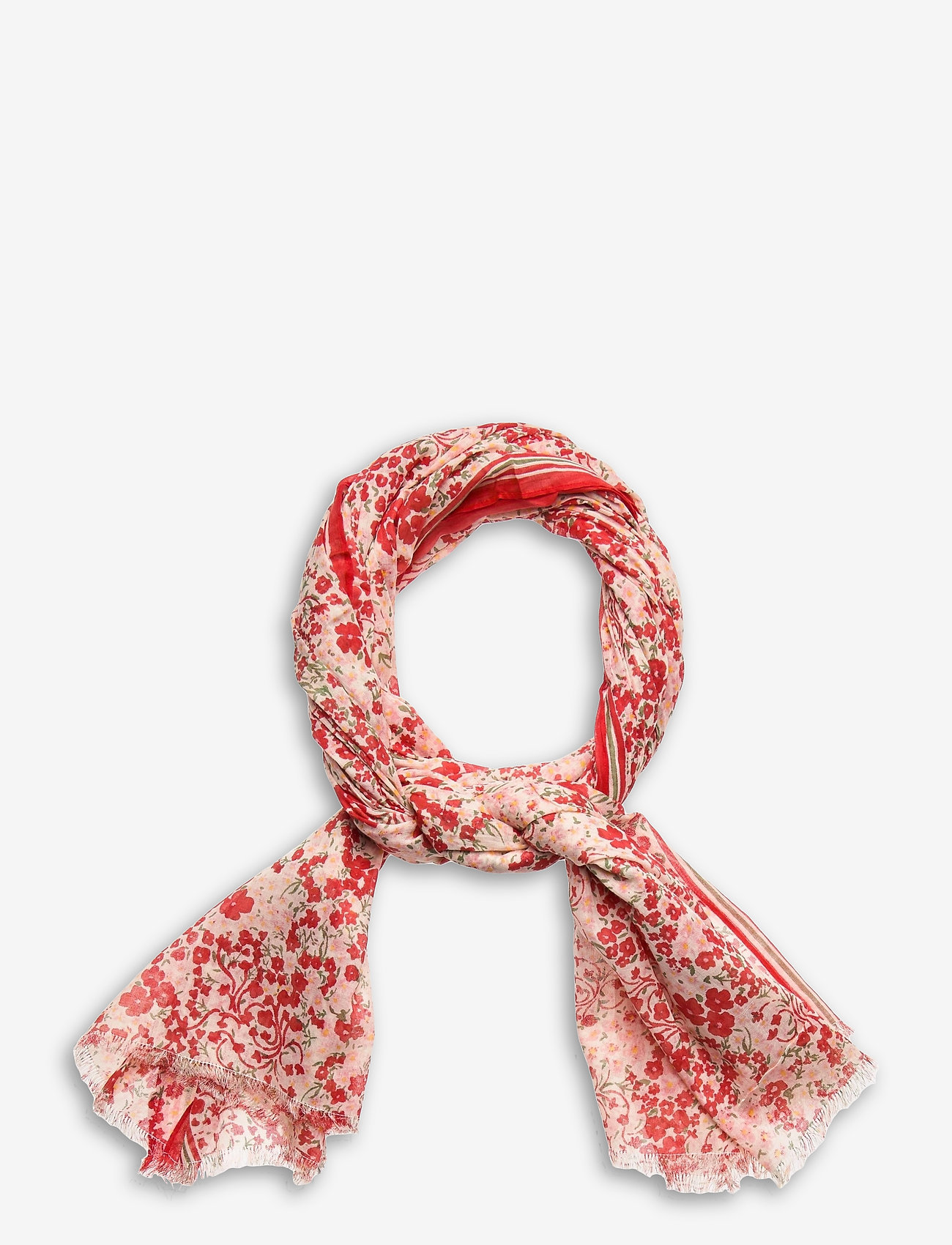 Becksöndergaard - Flofield Corga Scarf - accessories - fiery red - 0