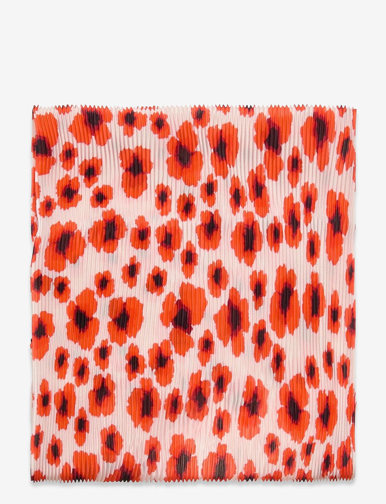 Becksöndergaard - Poppy Plea Scarf - szaliki i chusty - fiery red - 1