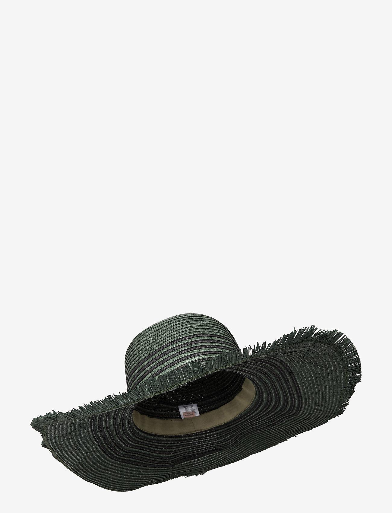 Becksöndergaard - Grethe Straw Hat - stråhatte - army - 0