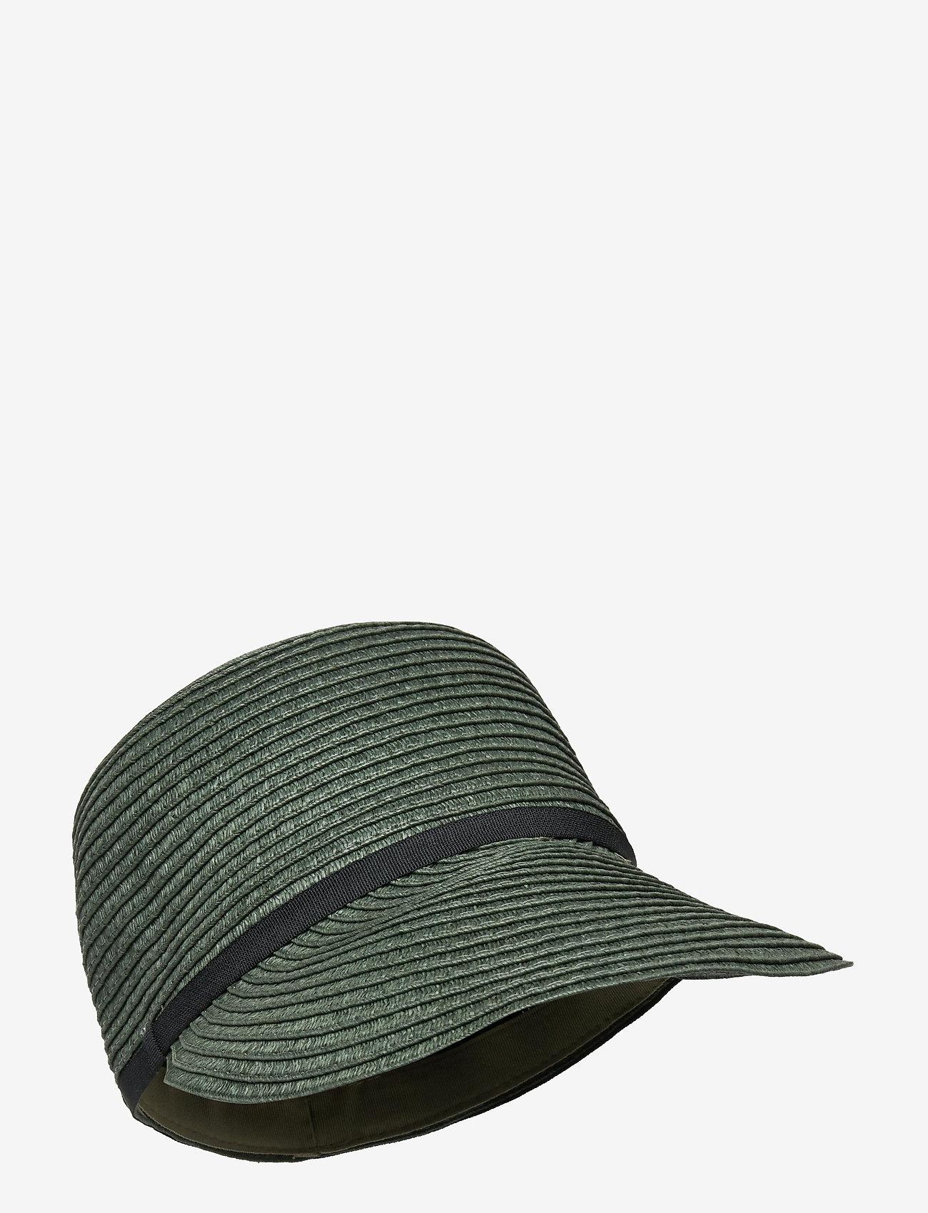 Becksöndergaard - Kalani Straw Hat - stråhatte - army - 0